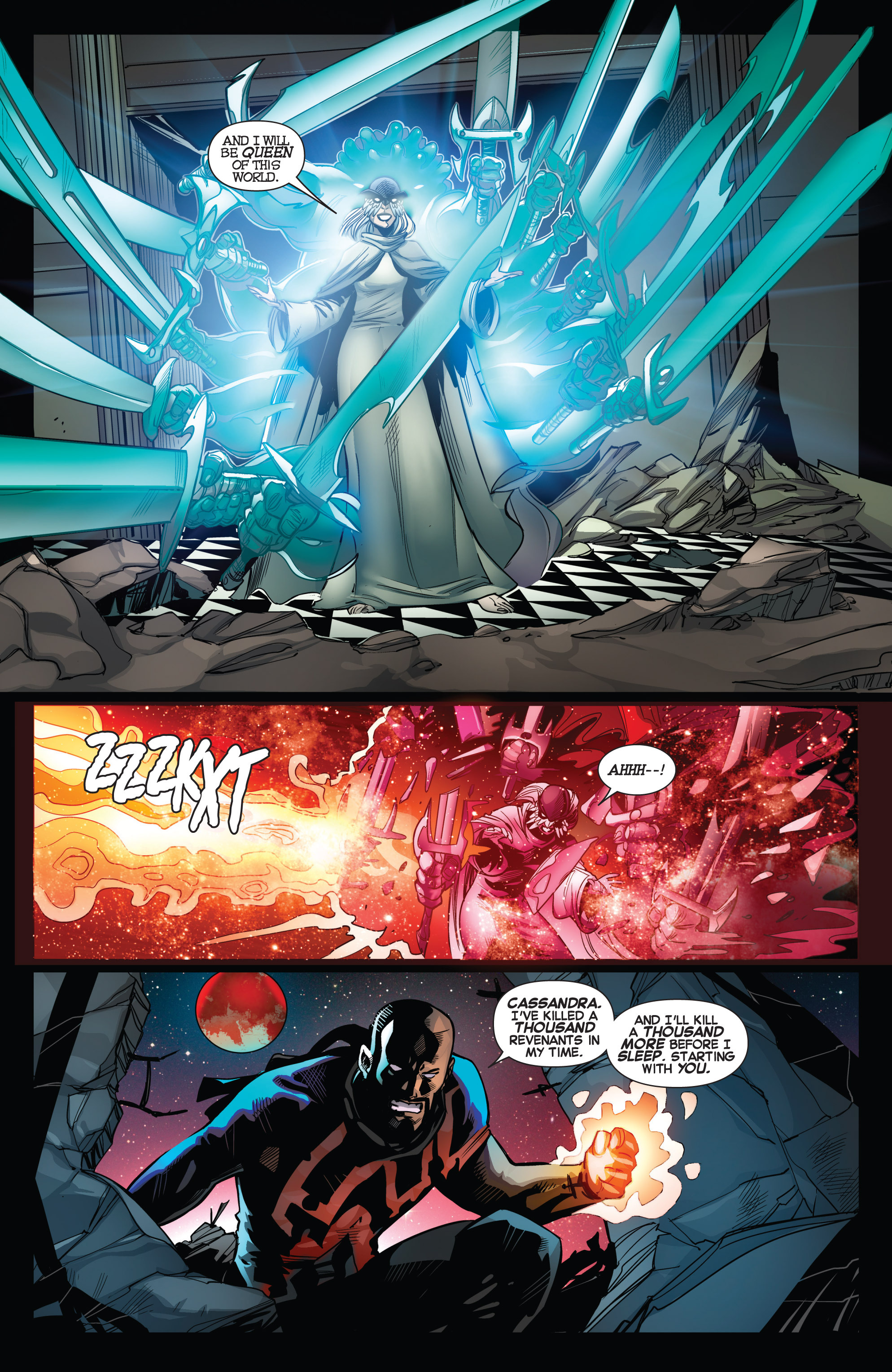 Read online Uncanny X-Force (2013) comic -  Issue #15 - 11