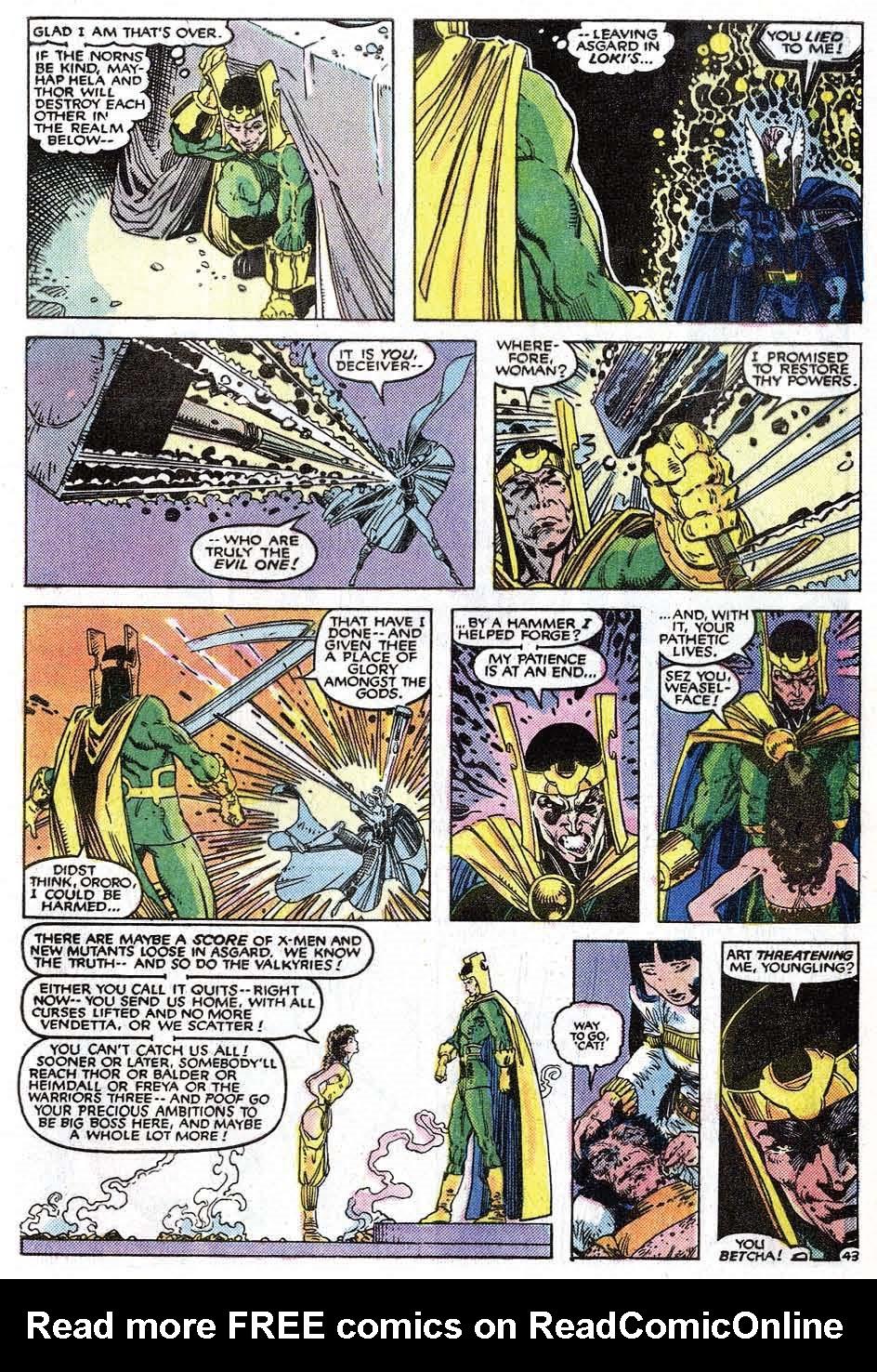 Read online Uncanny X-Men (1963) comic -  Issue # _Annual 9 - 45
