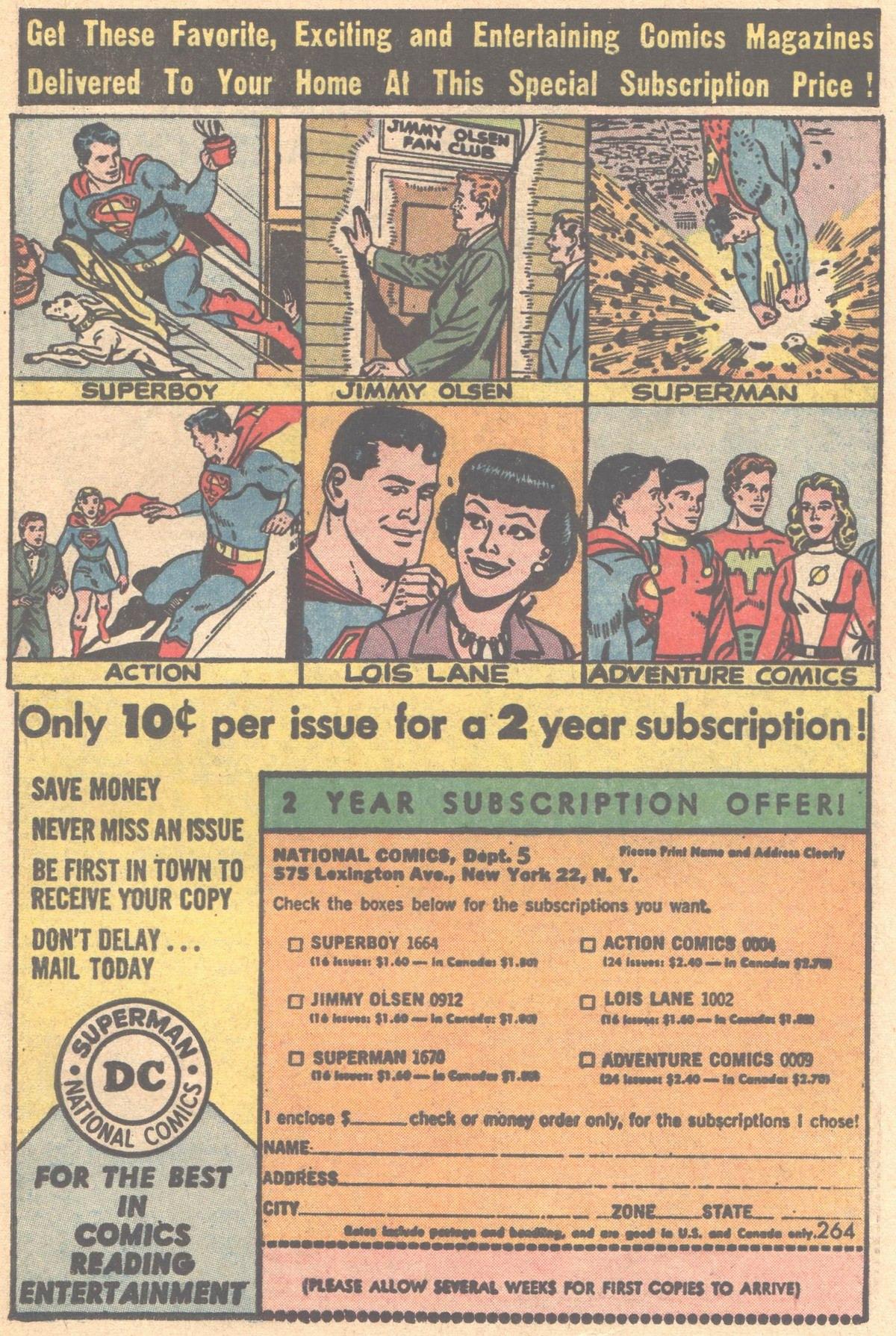 Read online Adventure Comics (1938) comic -  Issue #317 - 23