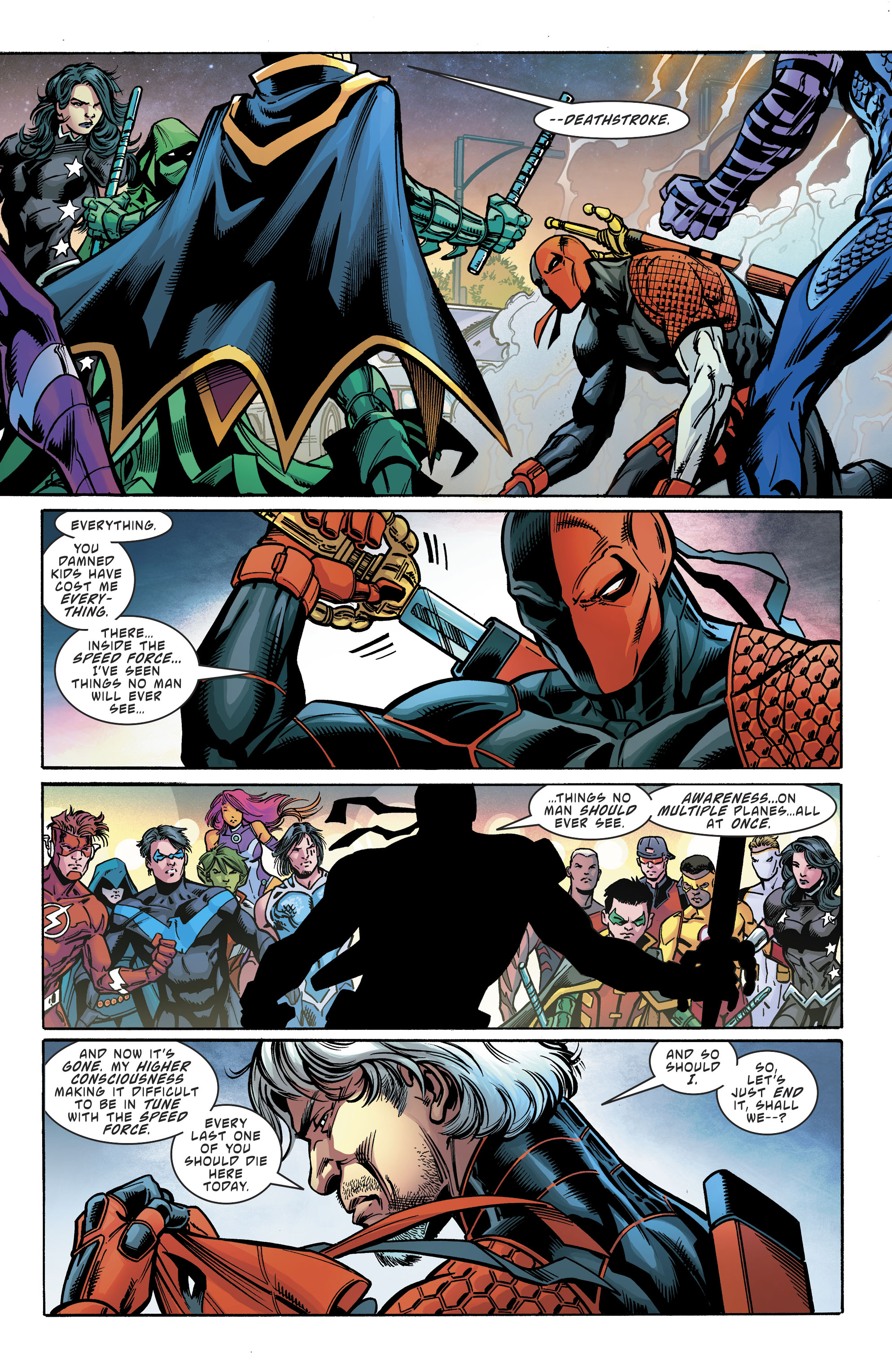 Read online Teen Titans (2016) comic -  Issue # Annual 1 - The Lazarus Contract Special 1 - 33