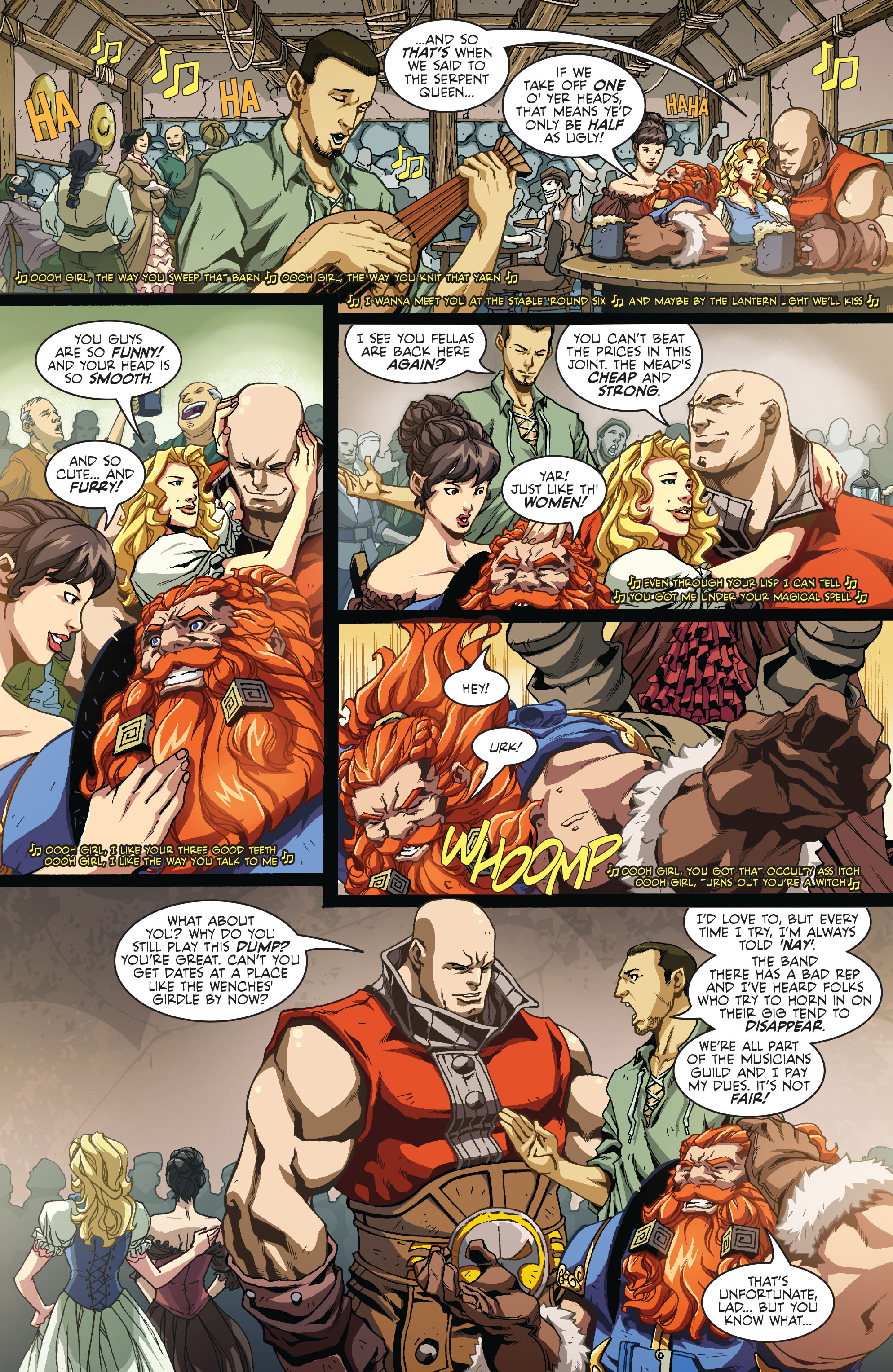 Read online Skullkickers comic -  Issue #12 - 3