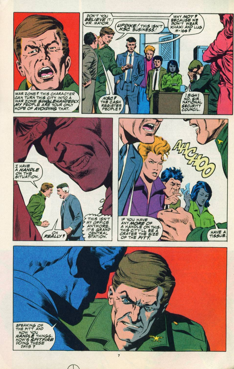 Read online Justice (1986) comic -  Issue #22 - 8