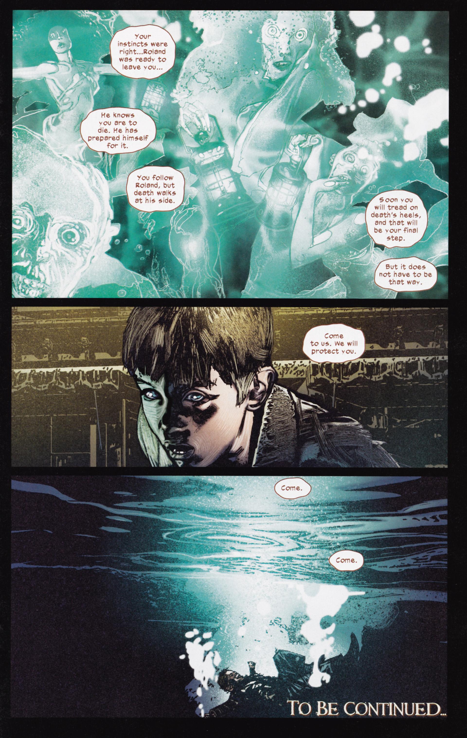 Read online Dark Tower: The Gunslinger - The Man in Black comic -  Issue #3 - 23