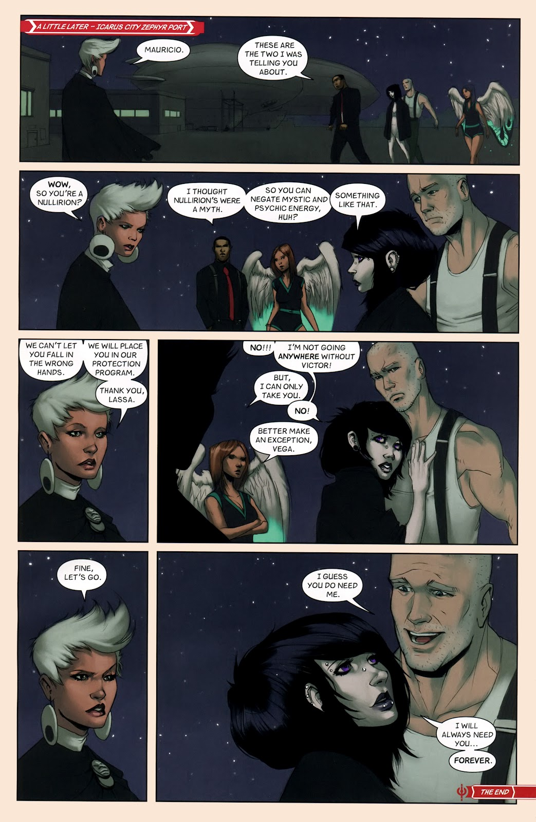 Read online Vescell comic -  Issue #7 - 22