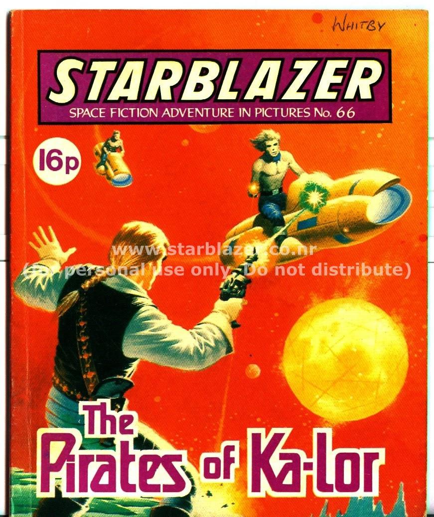 Starblazer issue 66 - Page 1