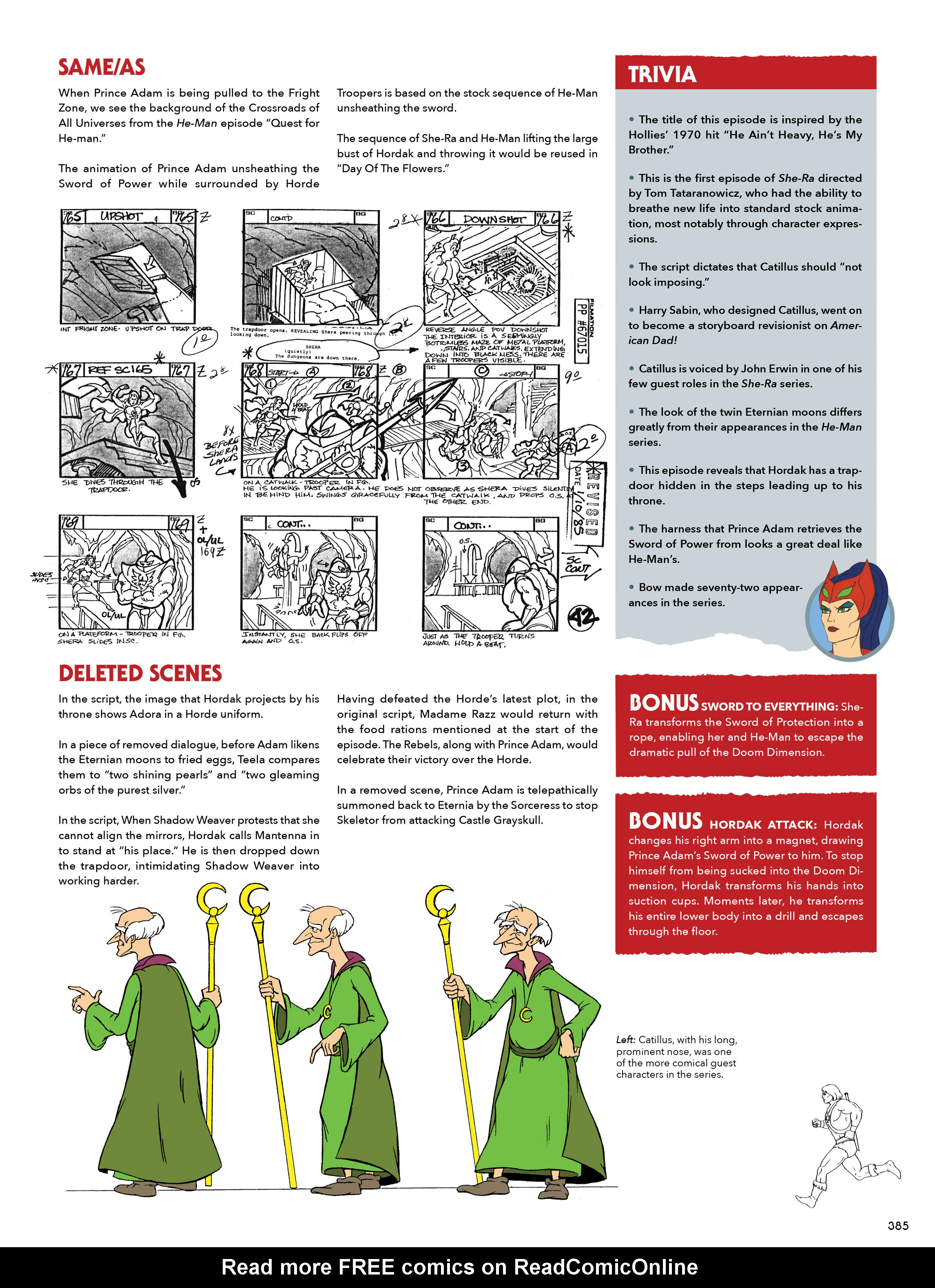 Read online He-Man and She-Ra: A Complete Guide to the Classic Animated Adventures comic -  Issue # TPB (Part 2) - 186