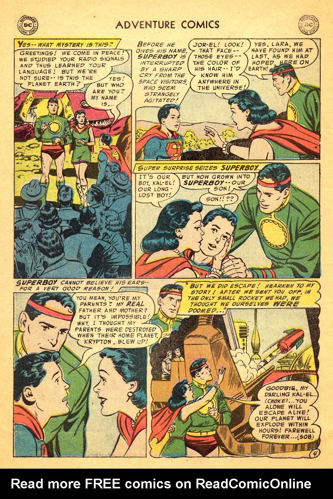 Read online Adventure Comics (1938) comic -  Issue #217 - 6