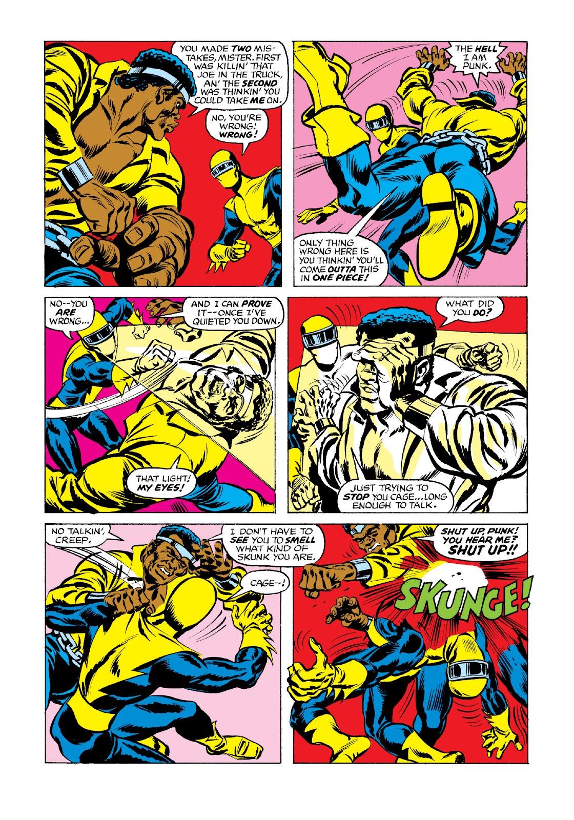 Read online Marvel Masterworks: Luke Cage, Power Man comic -  Issue # TPB 3 (Part 3) - 2