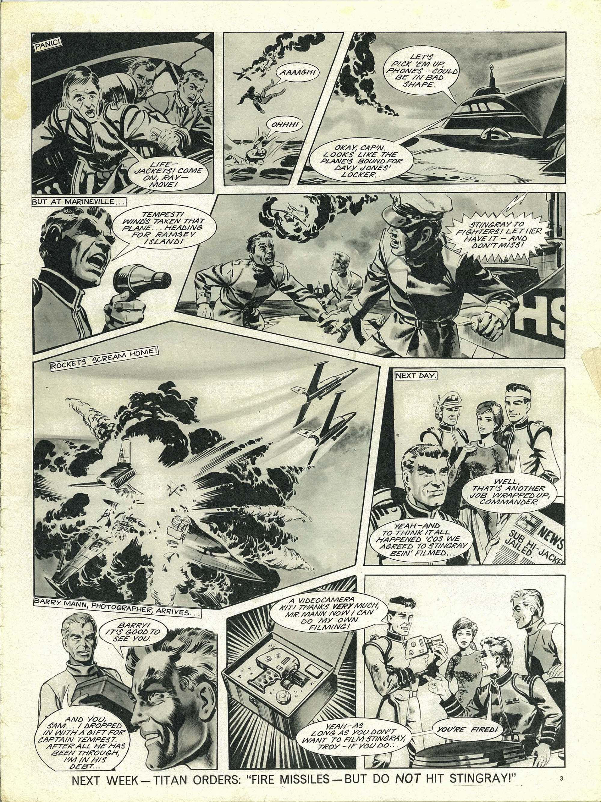 Read online TV Century 21 (TV 21) comic -  Issue #147 - 3