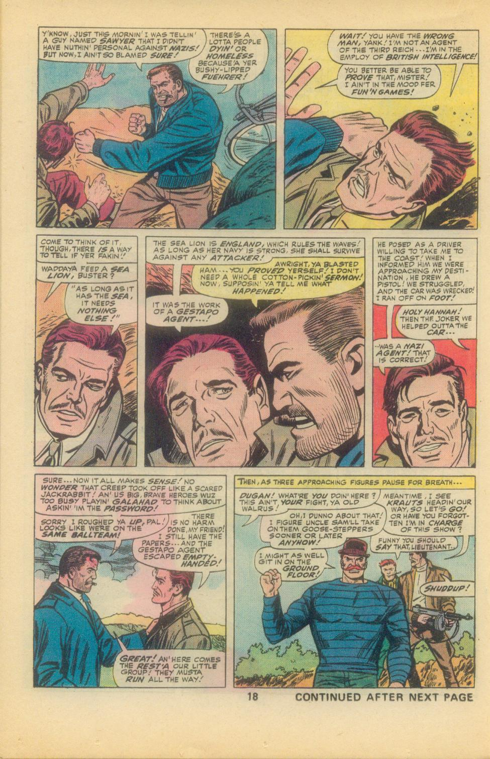 Read online Sgt. Fury comic -  Issue #136 - 20