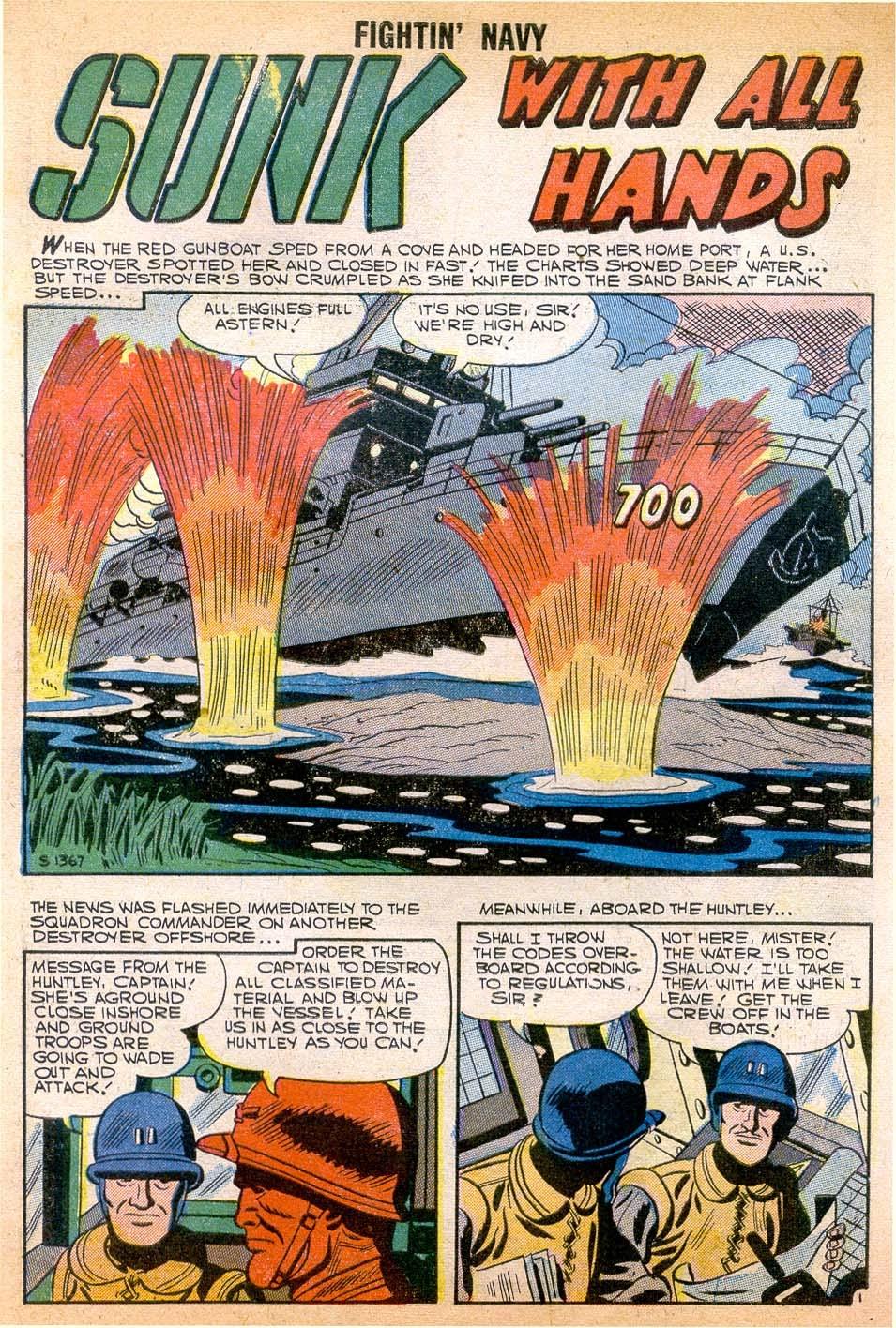 Read online Fightin' Navy comic -  Issue #79 - 27
