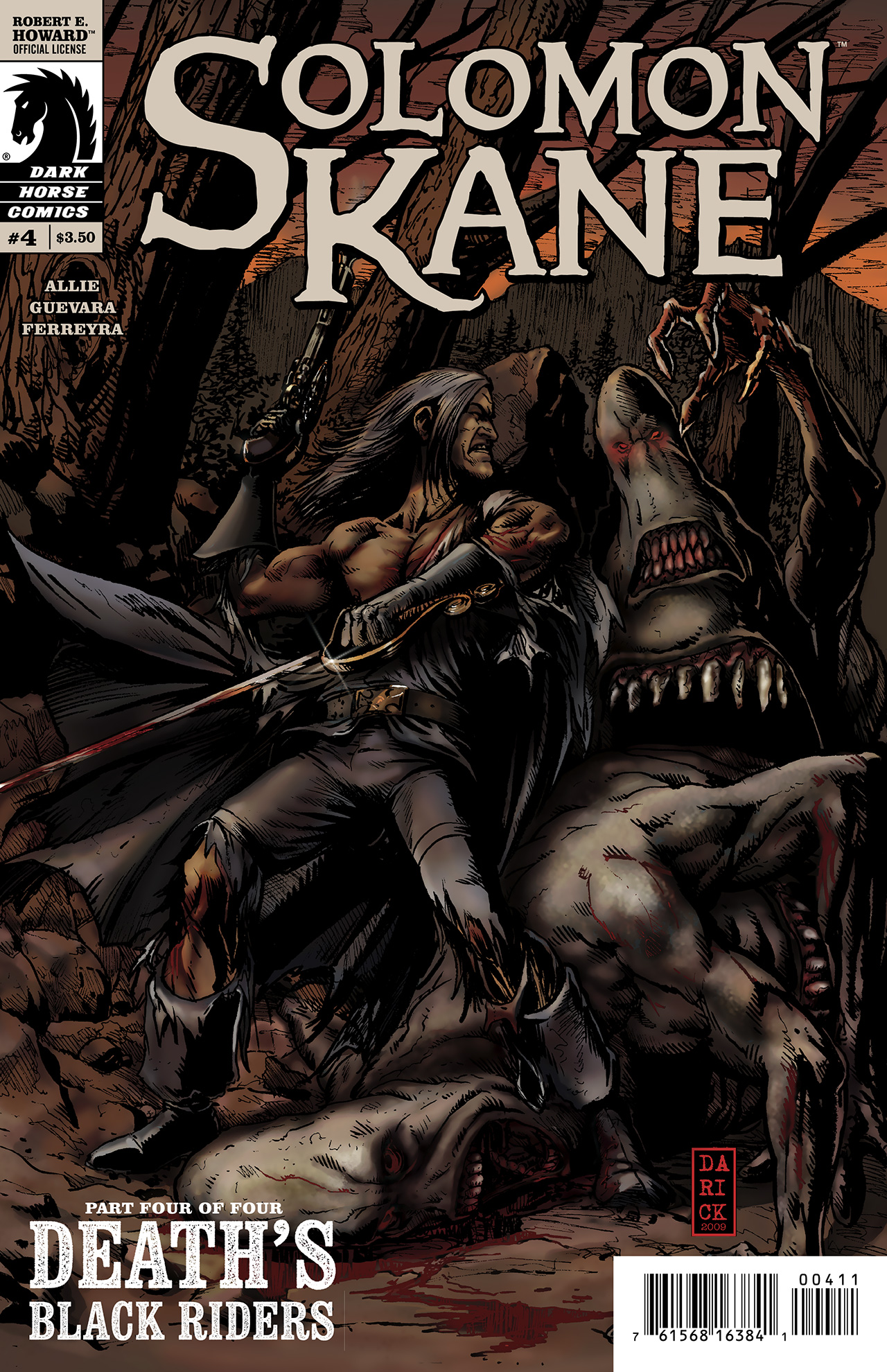Read online Solomon Kane: Death's Black Riders comic -  Issue #4 - 1