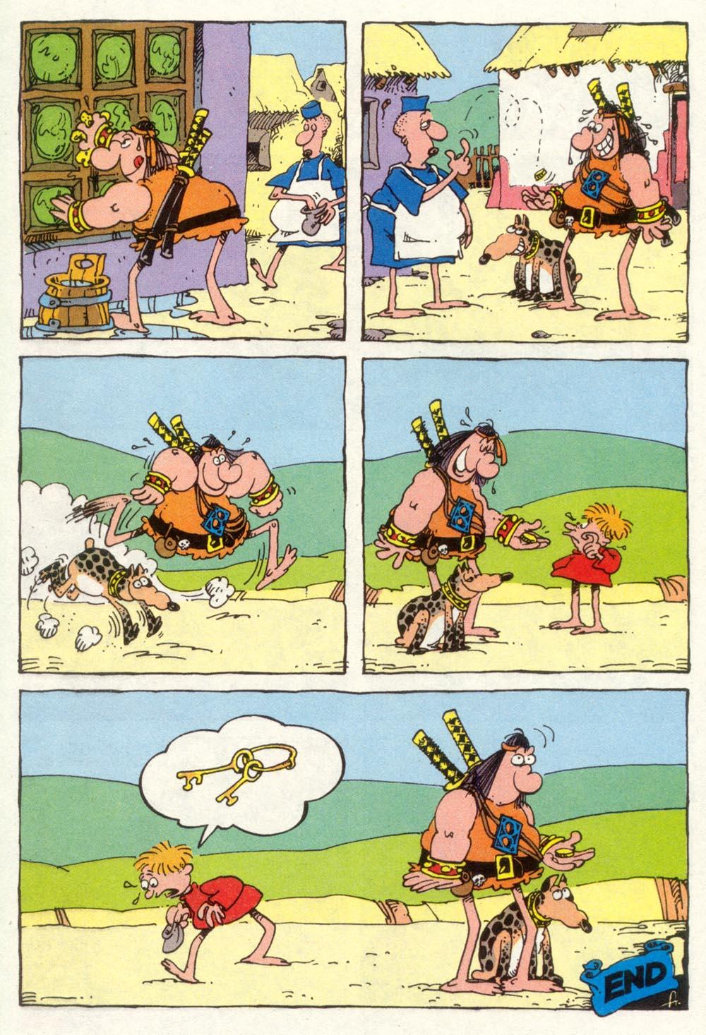 Read online Sergio Aragonés Groo the Wanderer comic -  Issue #92 - 28