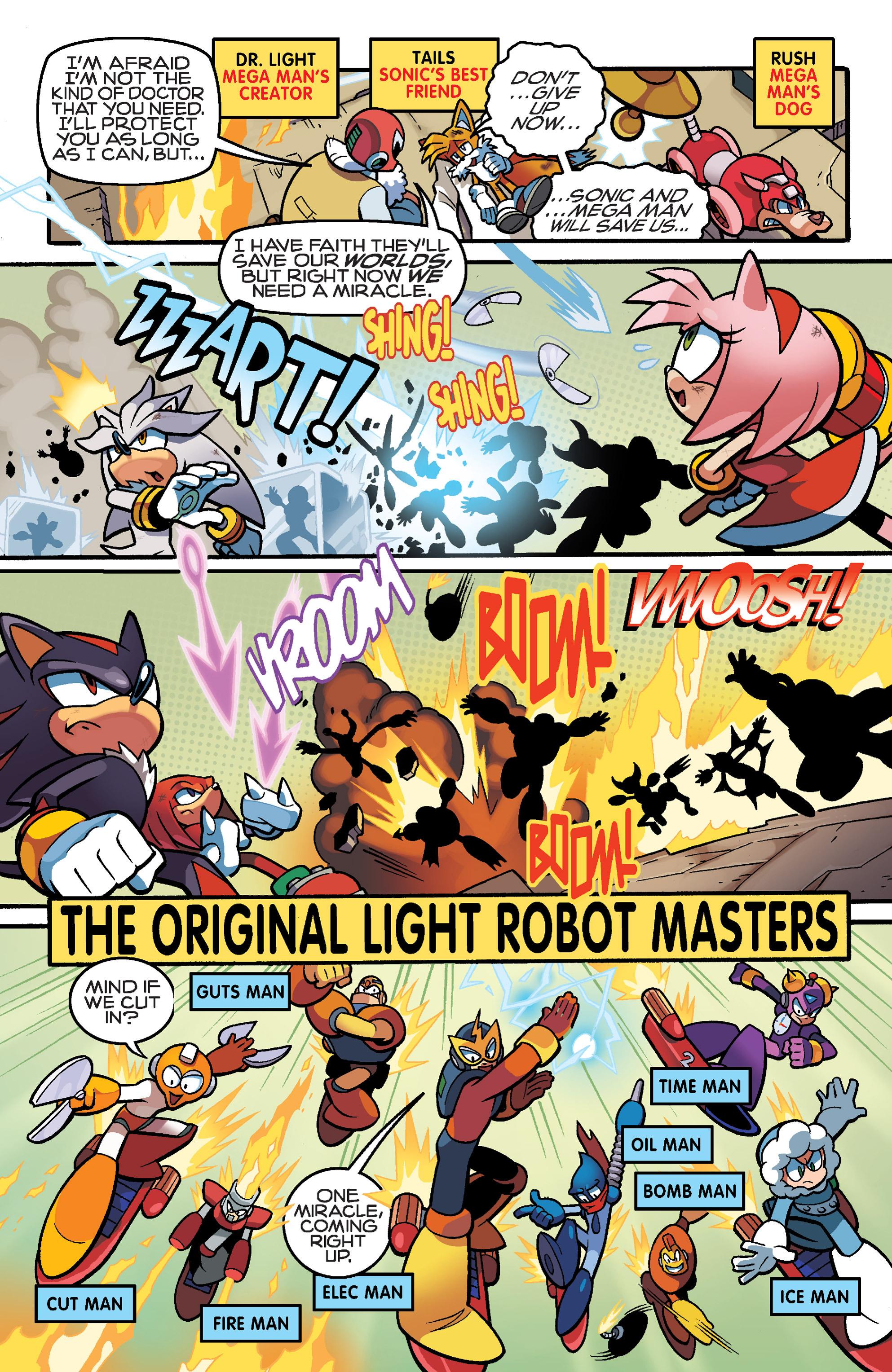 Read online Sonic Mega Man Worlds Collide comic -  Issue # Vol 3 - 98
