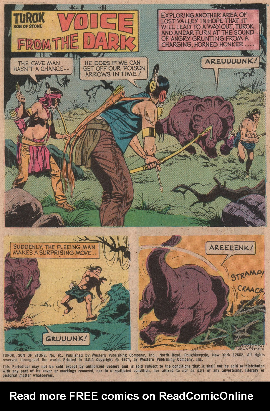 Read online Turok, Son of Stone comic -  Issue #91 - 3