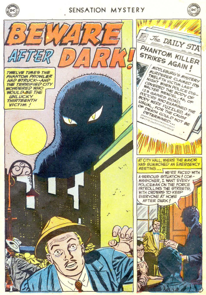 Read online Sensation (Mystery) Comics comic -  Issue #114 - 27