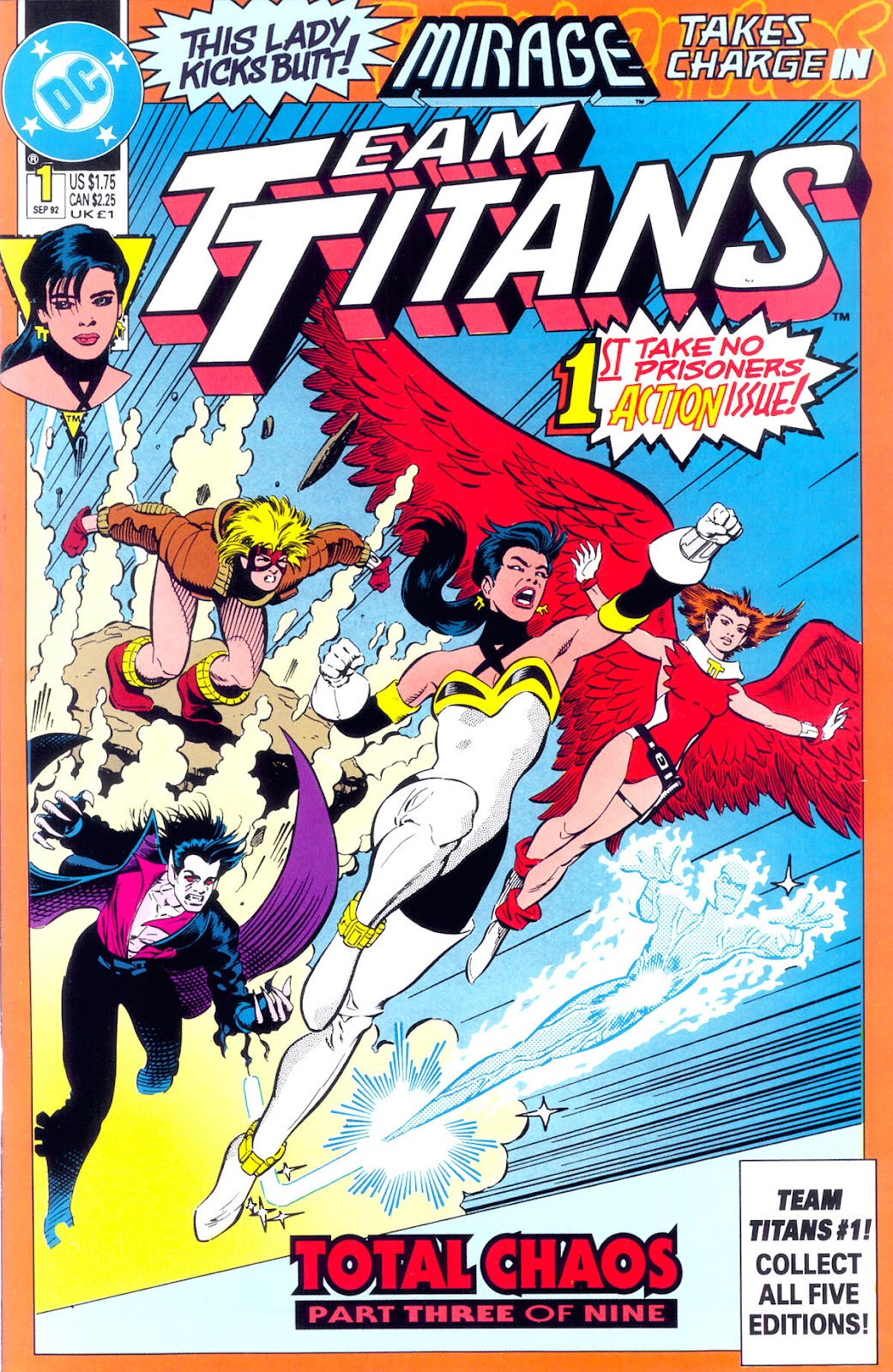 Read online Team Titans comic -  Issue #1b - 1