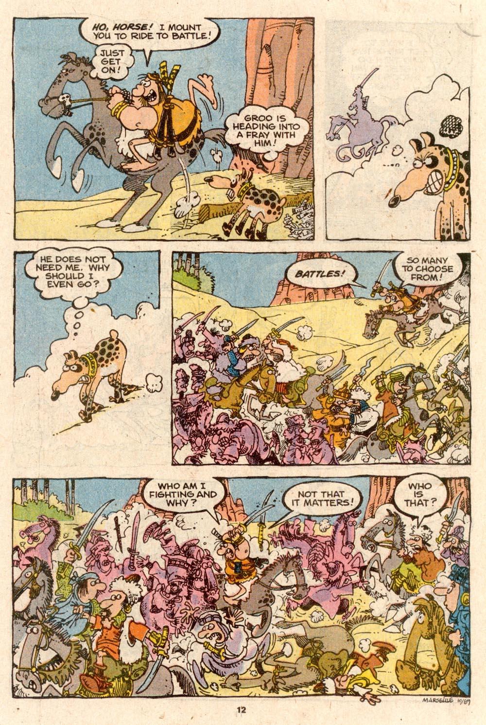 Read online Sergio Aragonés Groo the Wanderer comic -  Issue #62 - 13