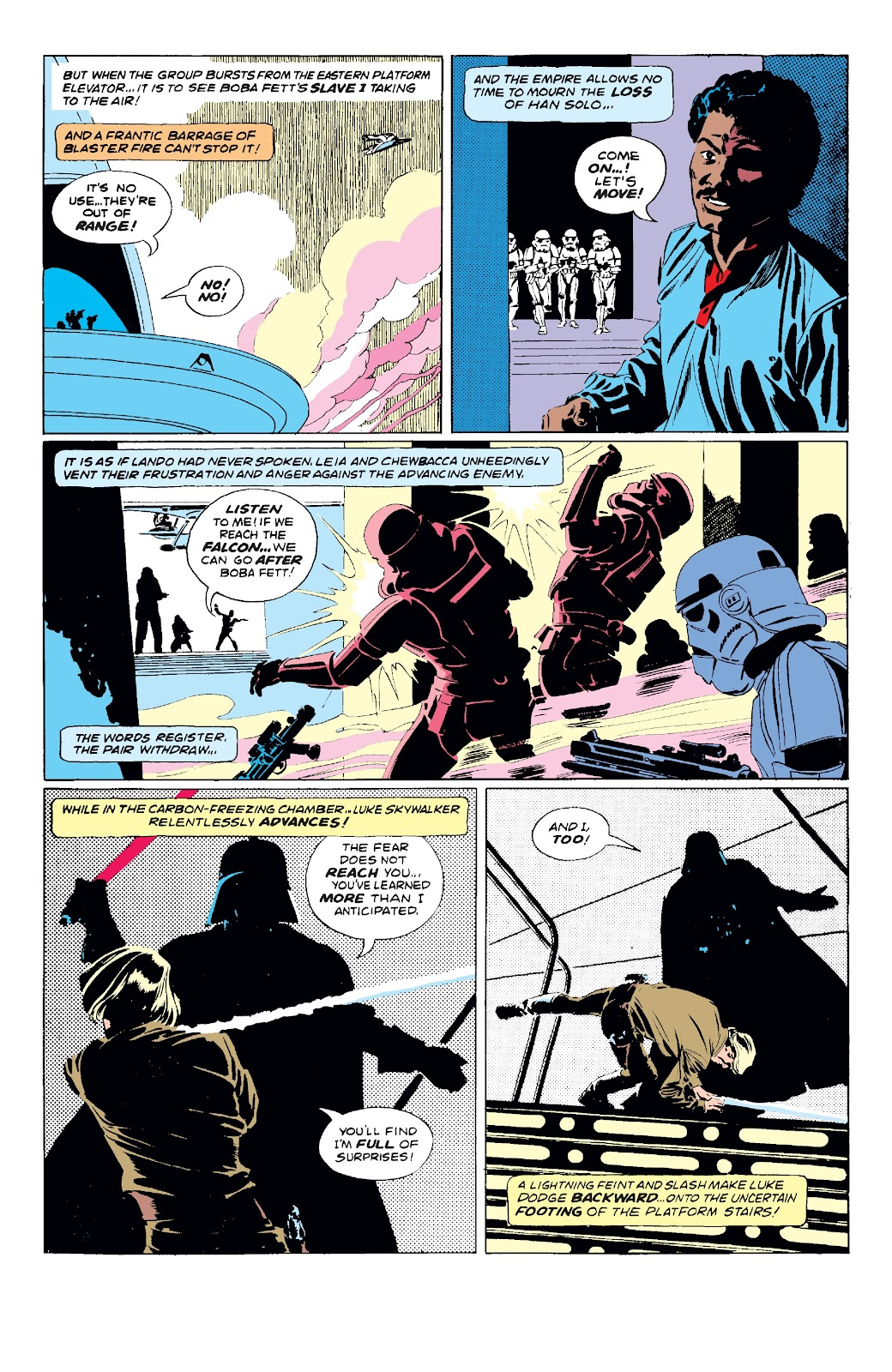 Read online Star Wars Legends: The Original Marvel Years - Epic Collection comic -  Issue # TPB 3 (Part 2) - 3