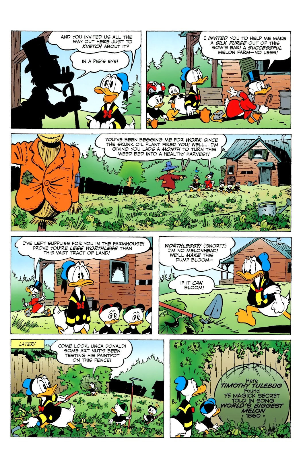 Walt Disney's Comics and Stories issue 730 - Page 4