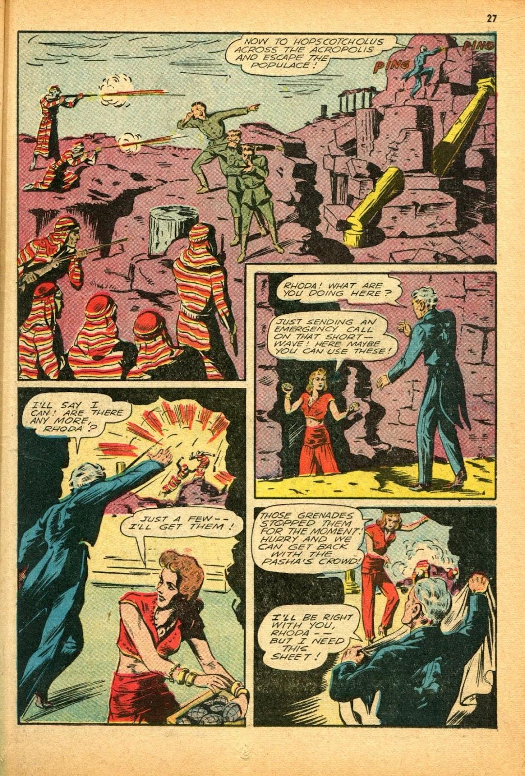 Read online Super-Magician Comics comic -  Issue #12 - 27