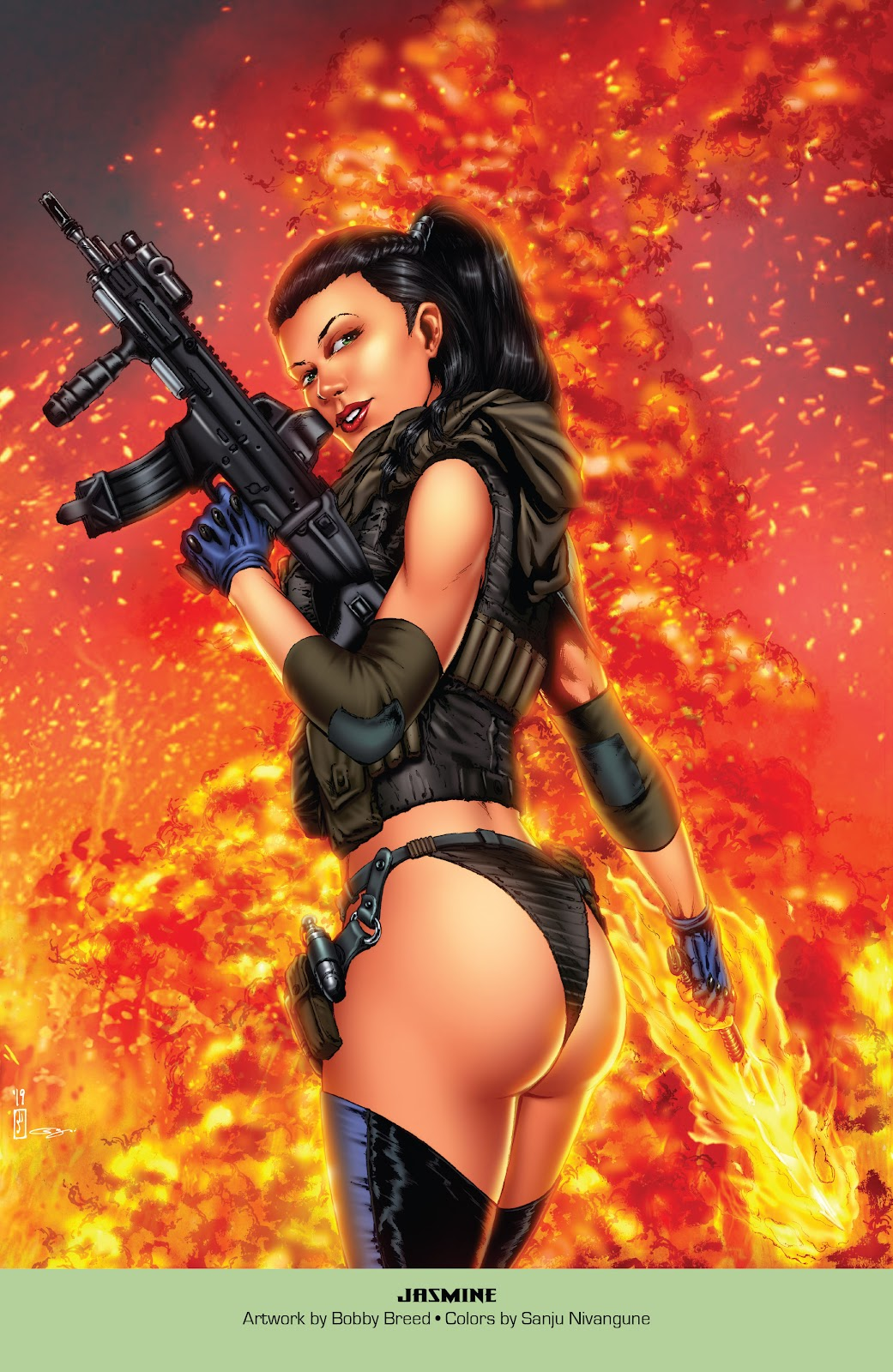 Read online Grimm Fairy Tales: 2019 Armed Forces Edition comic -  Issue # Full - 26
