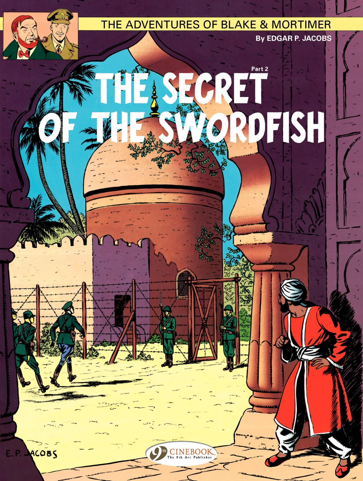 Blake & Mortimer issue 16 - Page 1