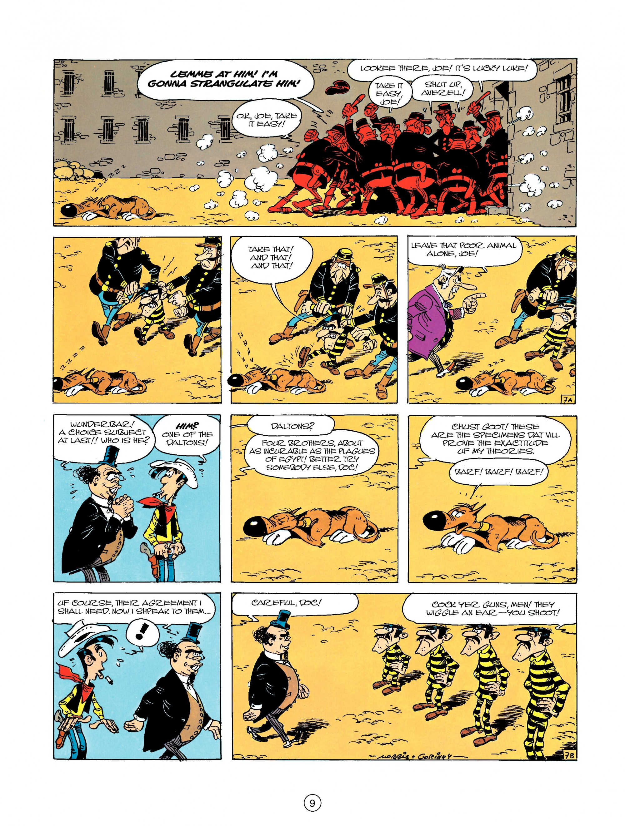 Read online A Lucky Luke Adventure comic -  Issue #23 - 9