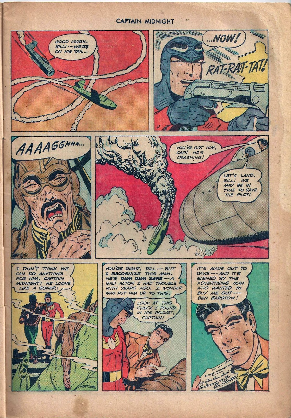 Captain Midnight (1942) issue 59 - Page 8