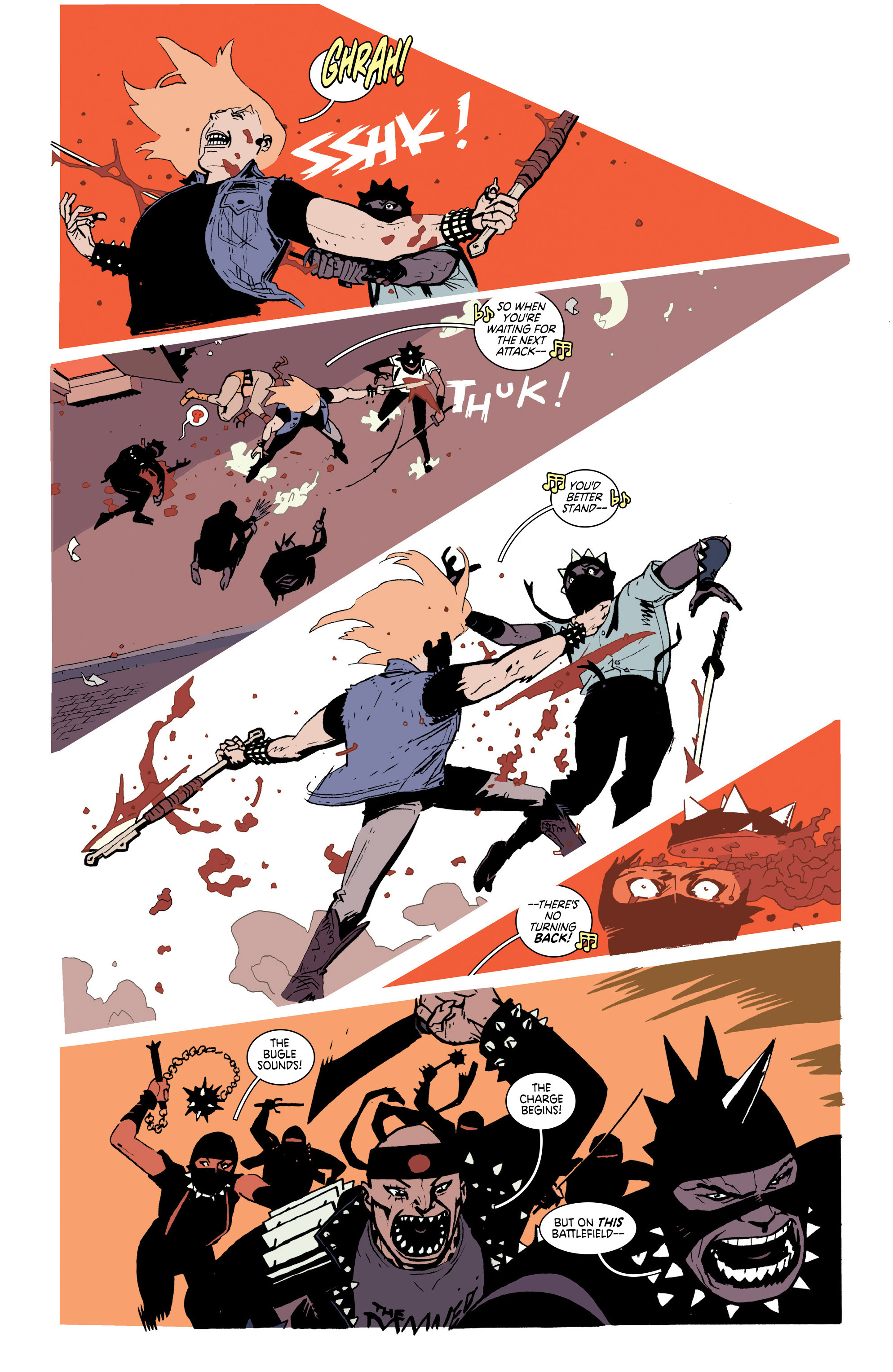Read online Deadly Class comic -  Issue #25 - 5