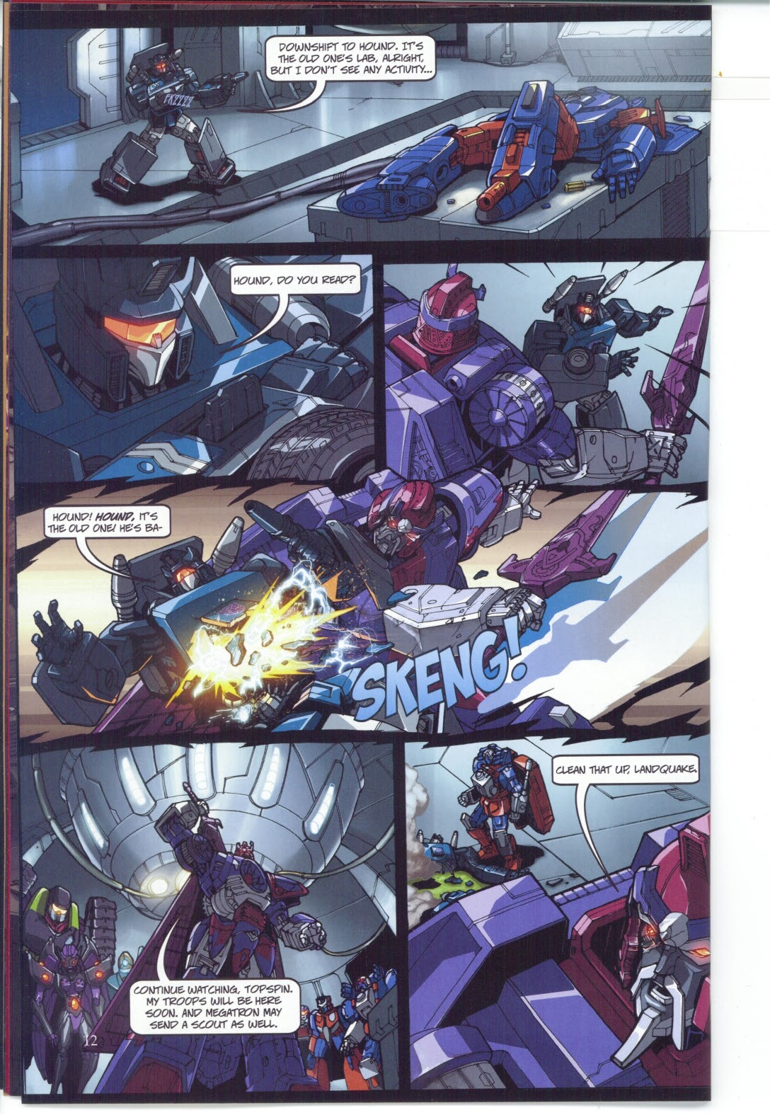 Read online Transformers: Collectors' Club comic -  Issue #25 - 12