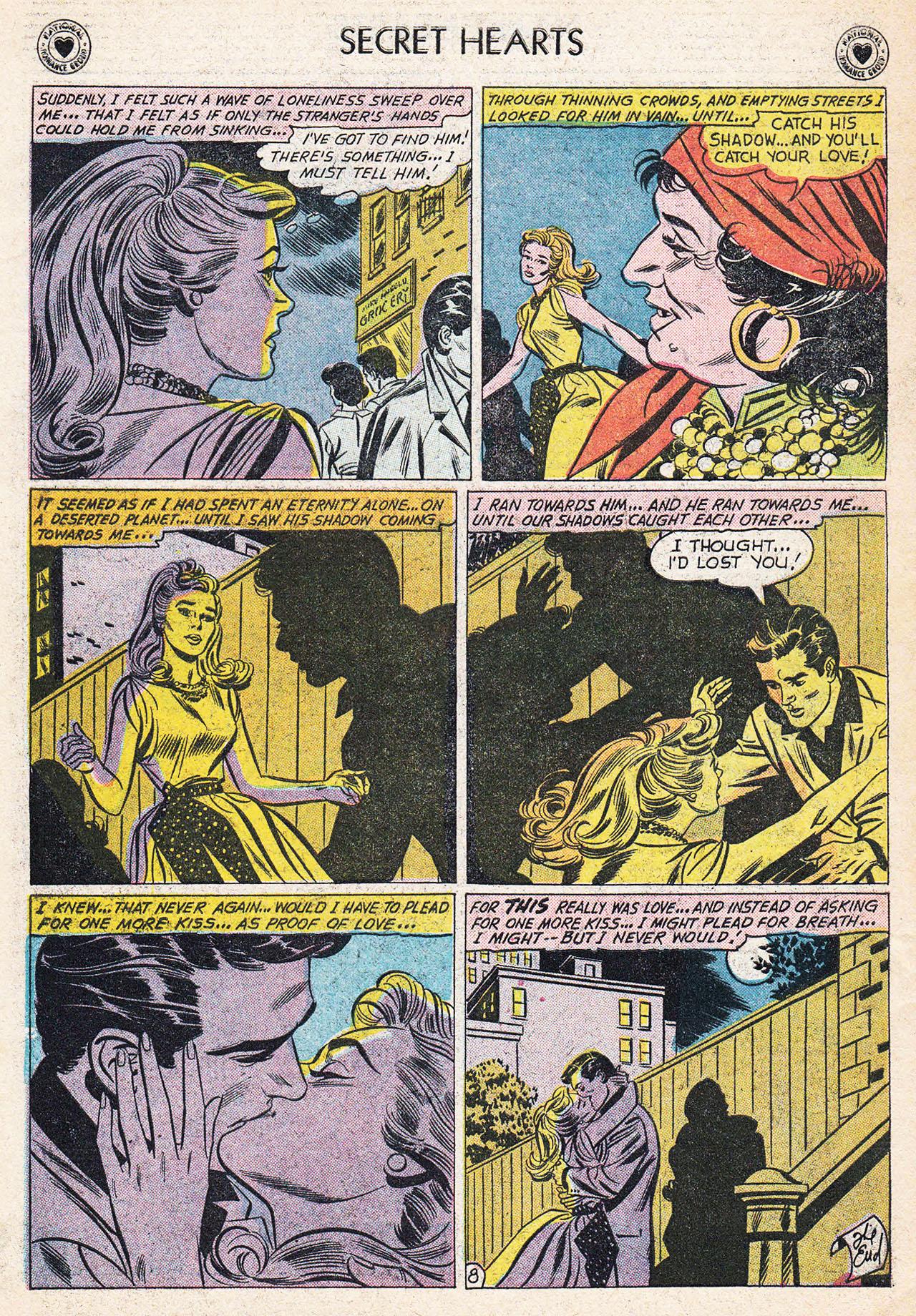 Read online Secret Hearts comic -  Issue #75 - 34
