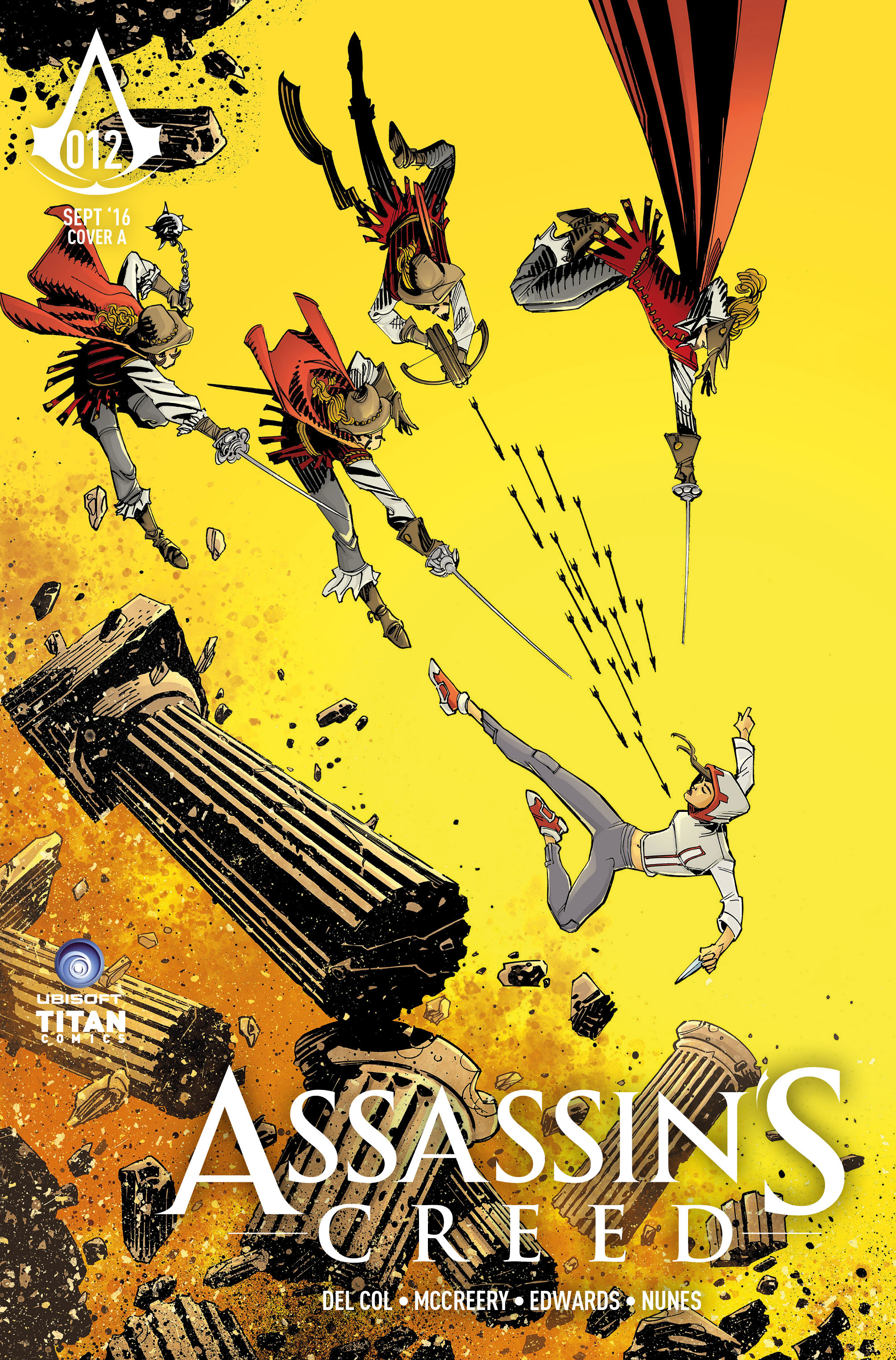 Read online Assassin's Creed (2015) comic -  Issue #12 - 1