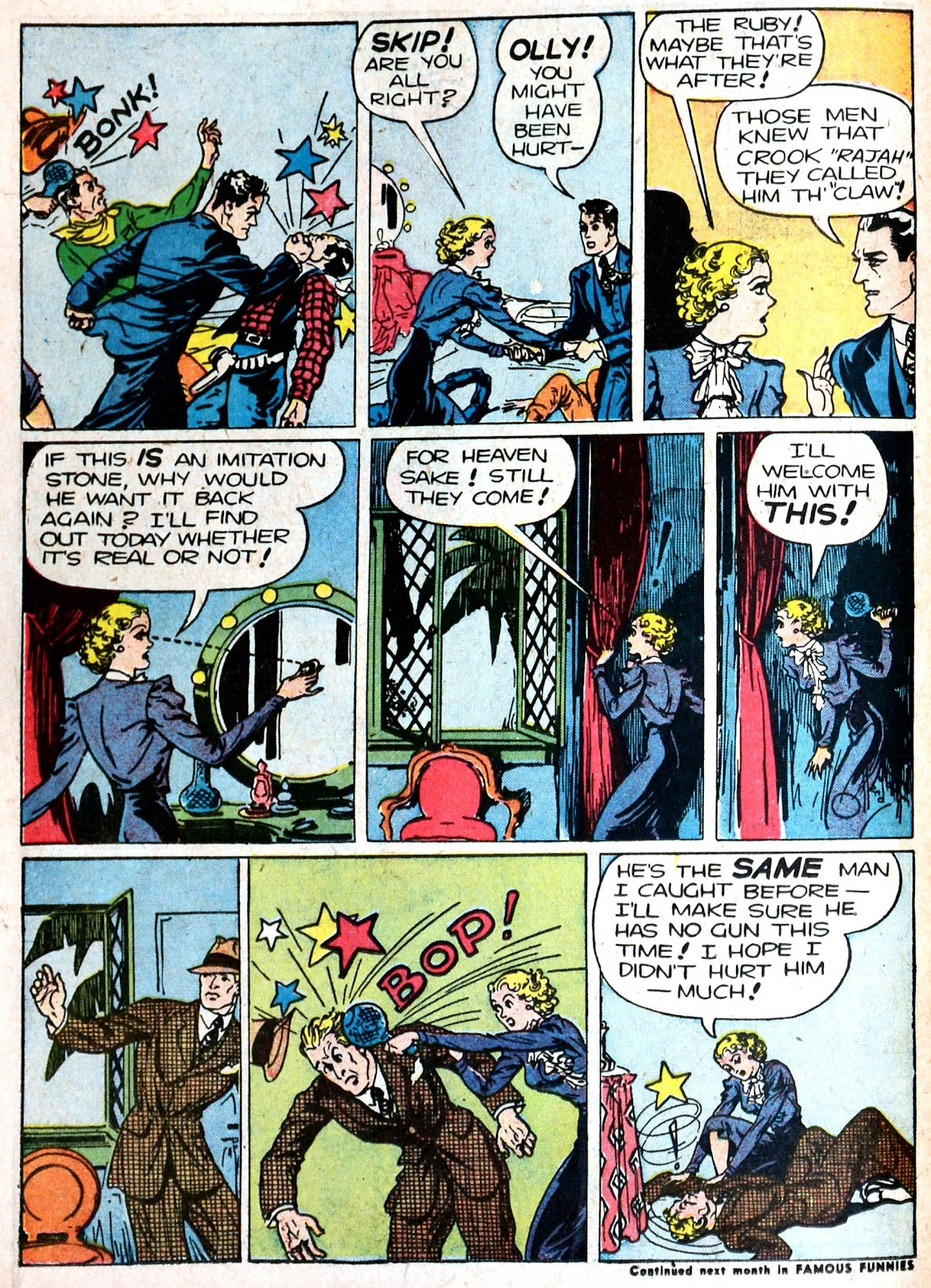 Read online Famous Funnies comic -  Issue #87 - 49