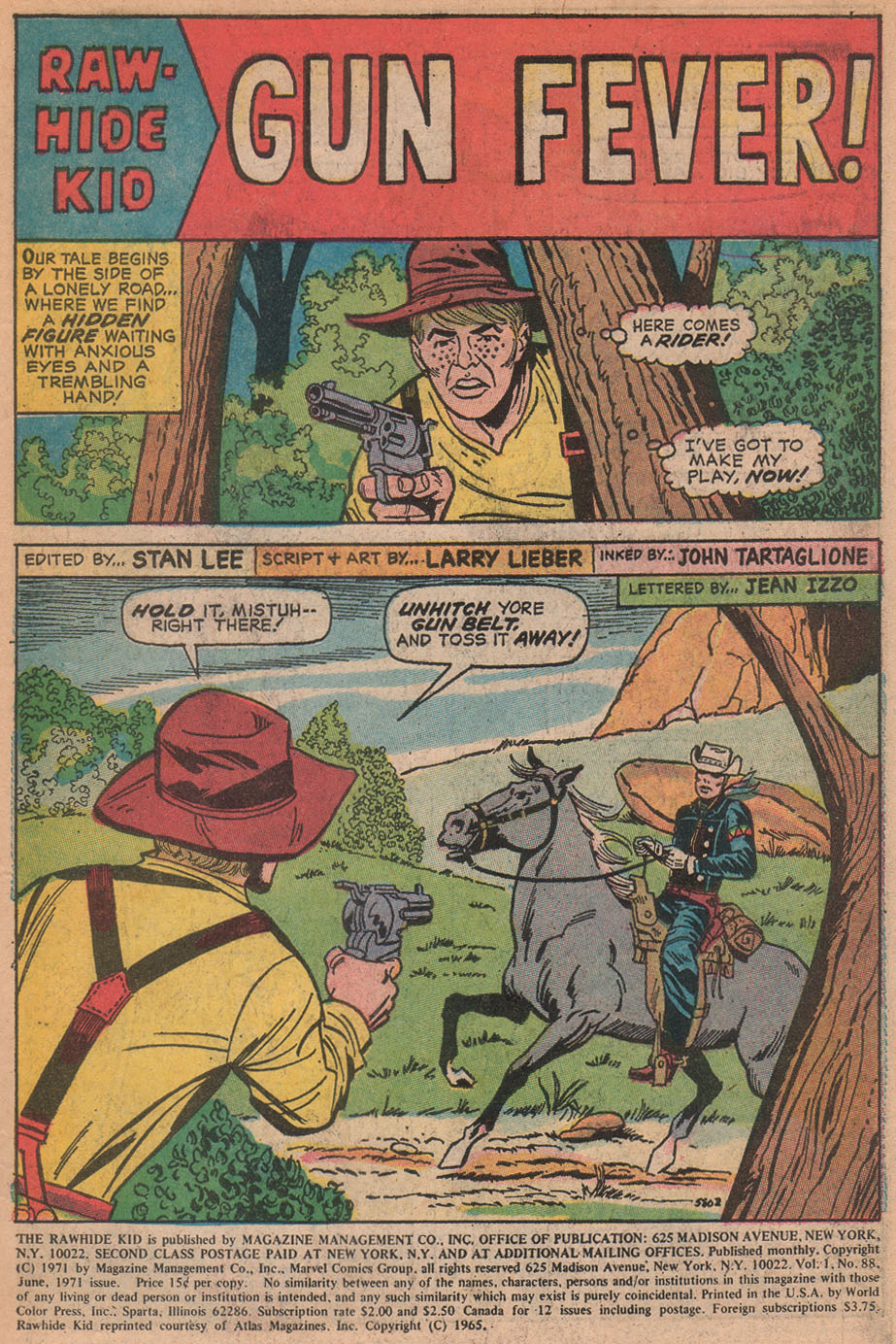 The Rawhide Kid (1955) issue 88 - Page 3