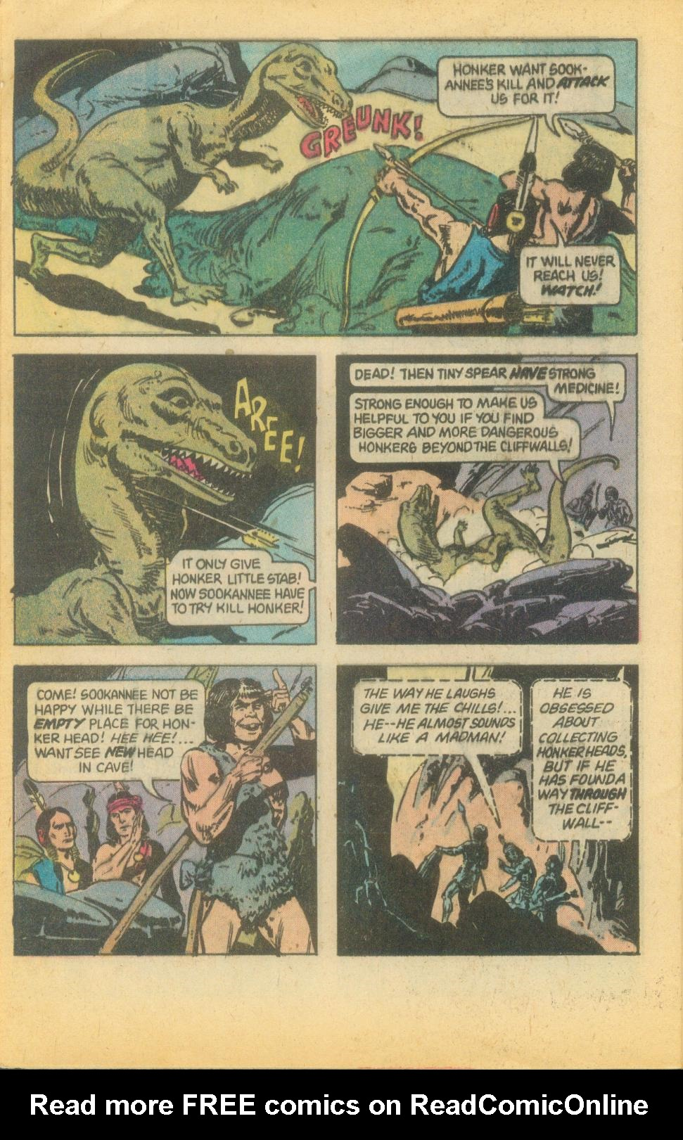 Read online Turok, Son of Stone comic -  Issue #120 - 28