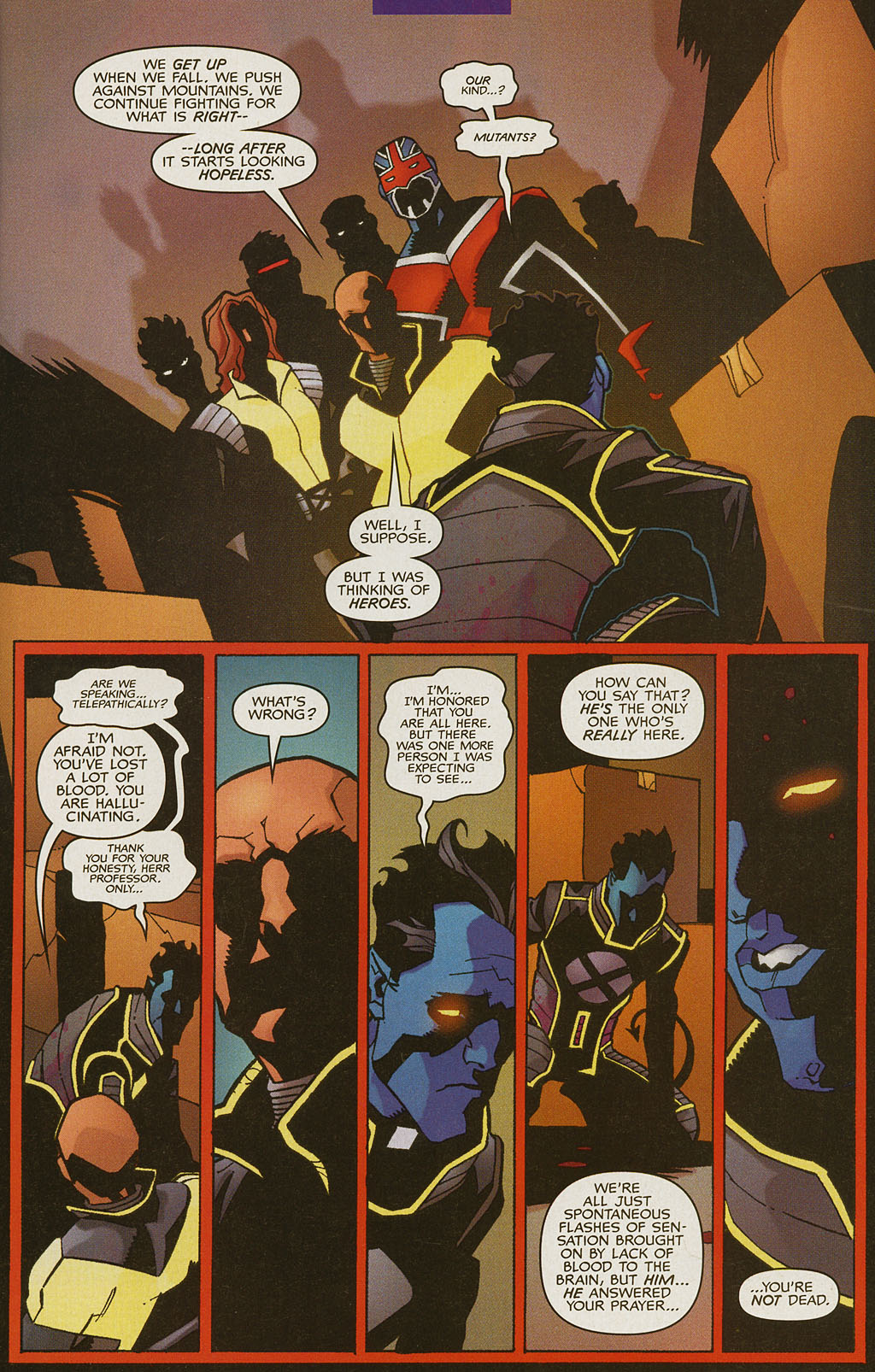 Read online Nightcrawler (2002) comic -  Issue #4 - 4