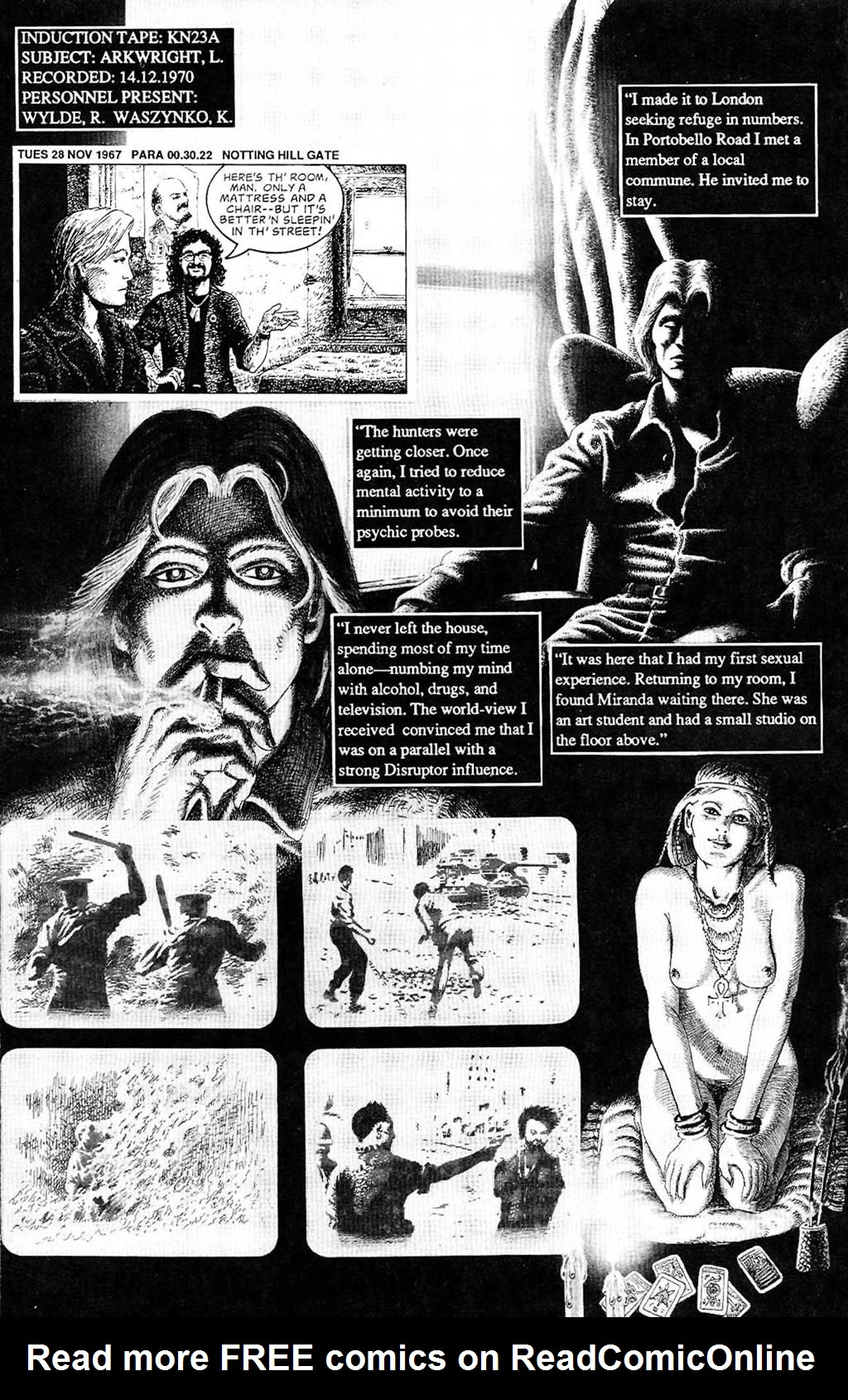 Read online The Adventures of Luther Arkwright comic -  Issue #2 - 22