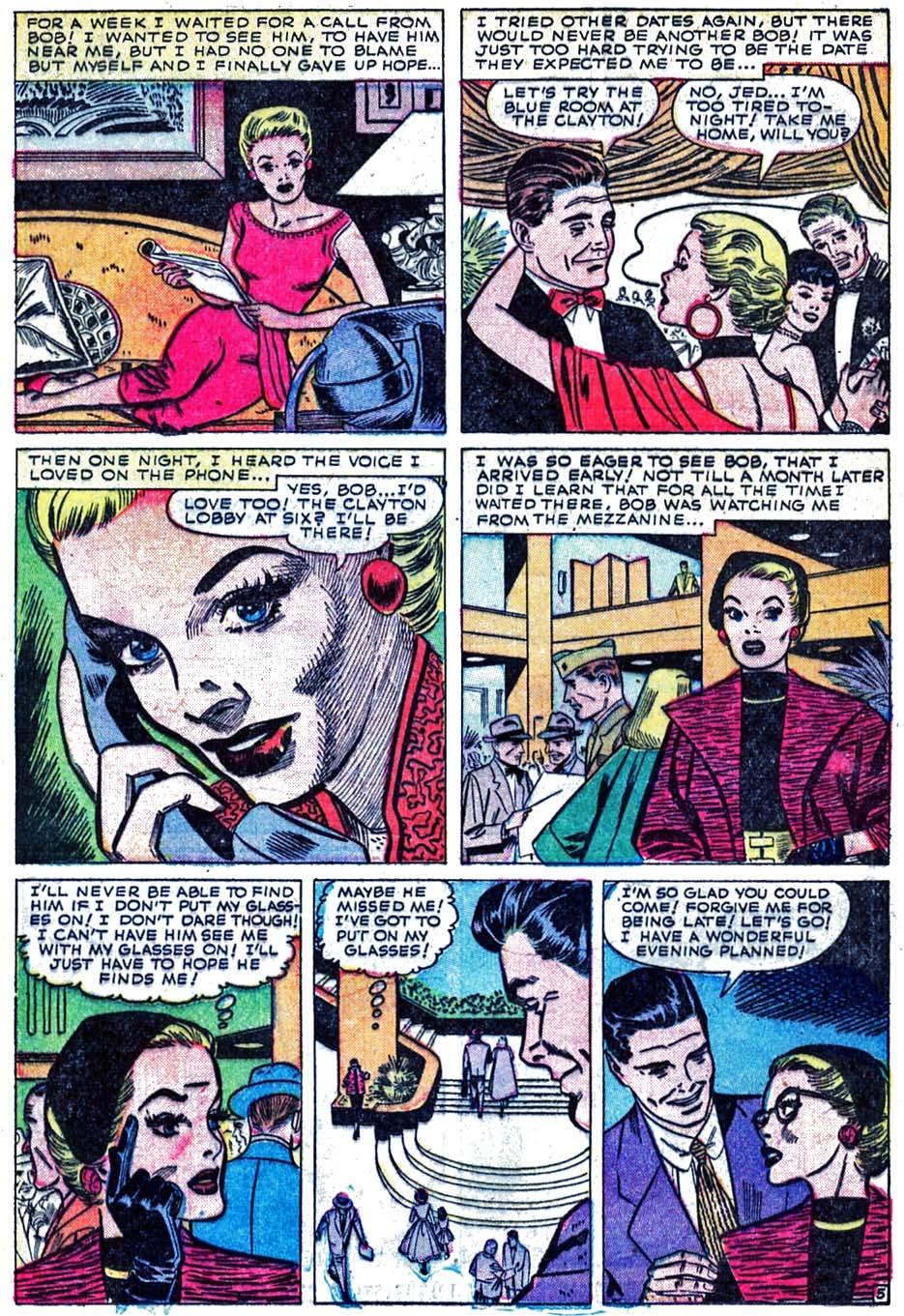 Love Romances (1949) issue 52 - Page 15