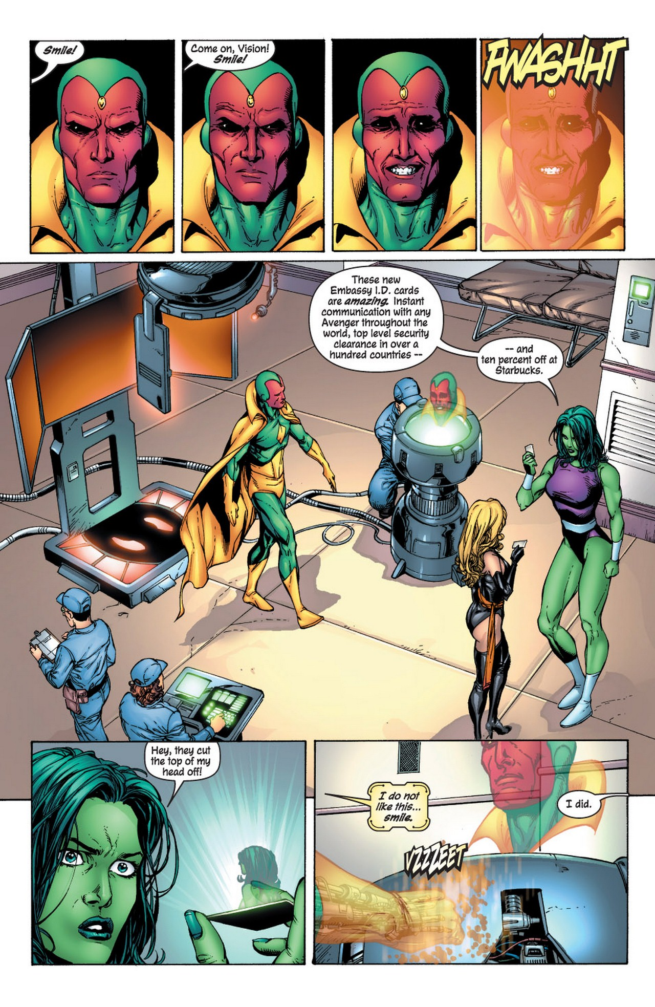 Read online Avengers (1998) comic -  Issue #61 - 8
