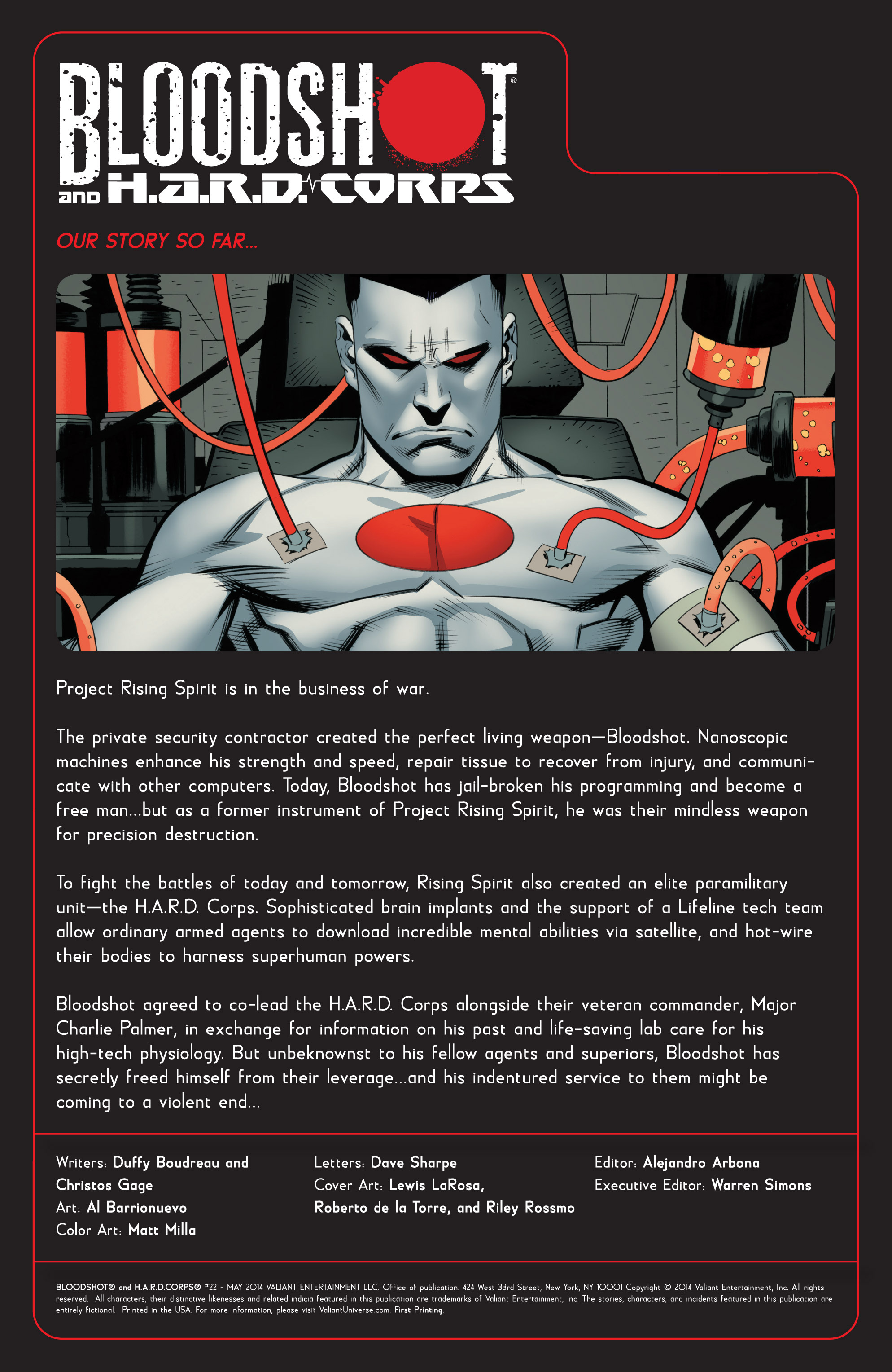 Read online Bloodshot and H.A.R.D.Corps comic -  Issue #22 - 2