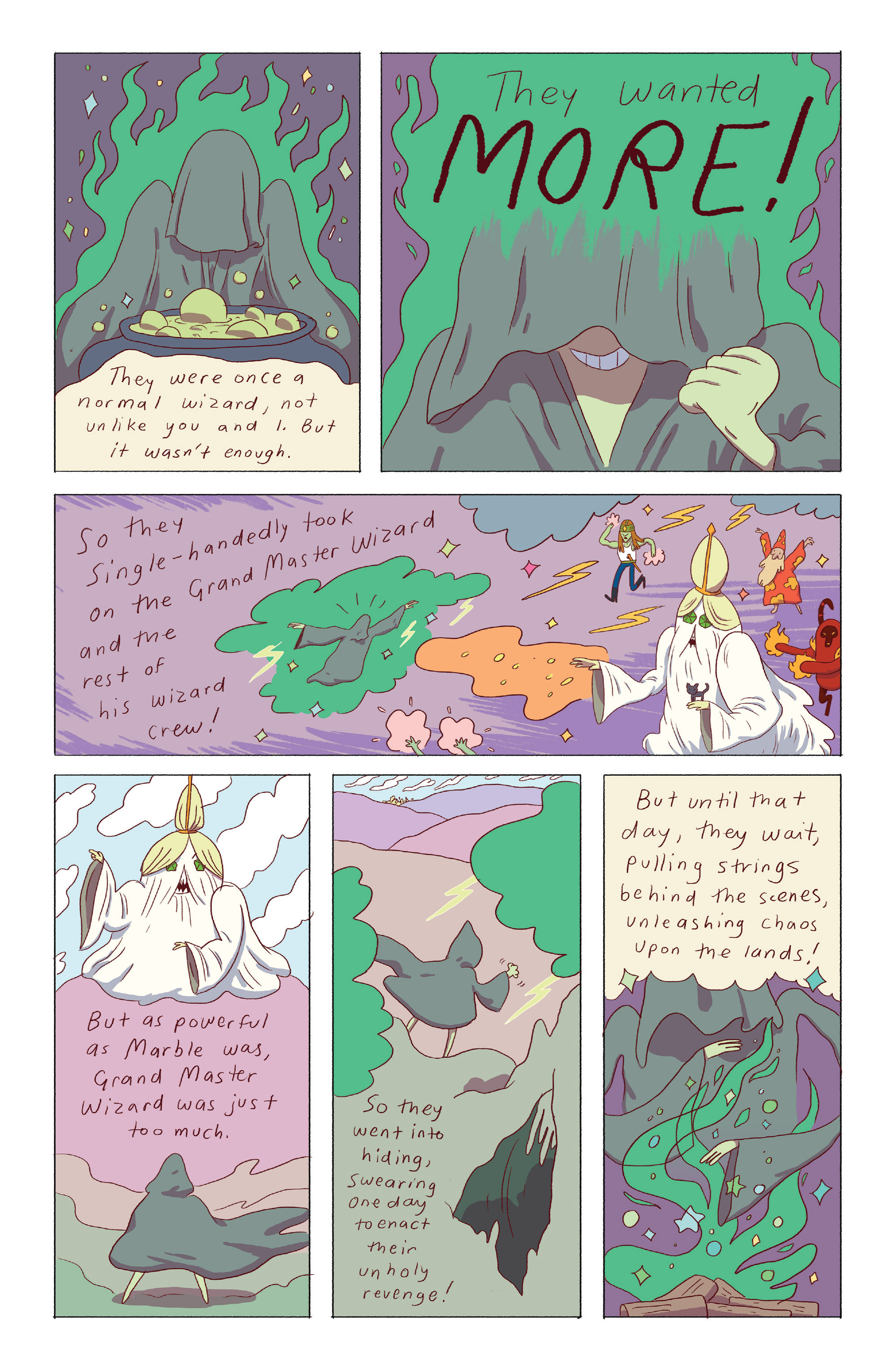 Read online Adventure Time: Ice King comic -  Issue #4 - 22