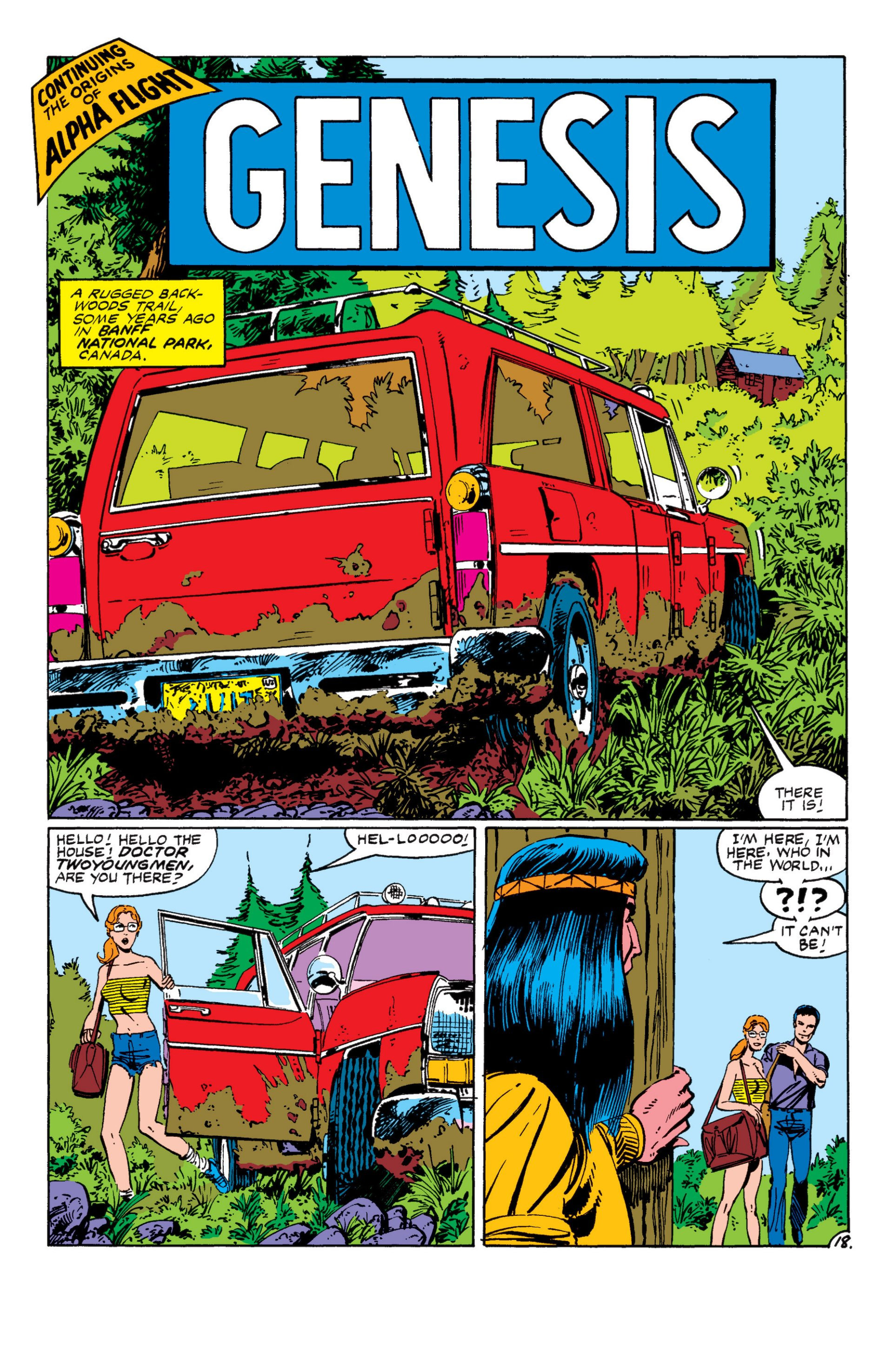 Read online Alpha Flight (1983) comic -  Issue #8 - 19