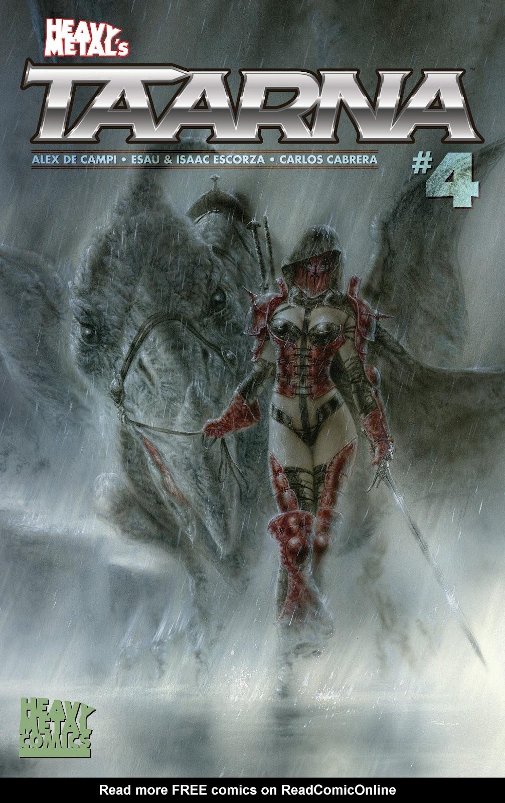 Read online Taarna comic -  Issue #4 - 1