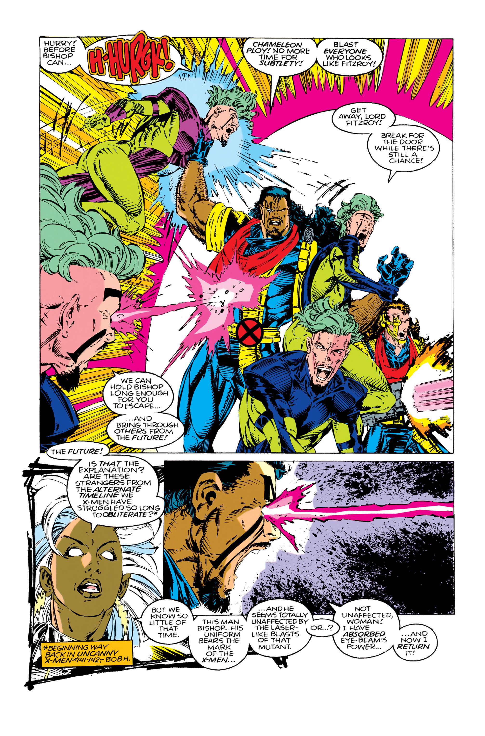 Read online Uncanny X-Men (1963) comic -  Issue #283 - 6