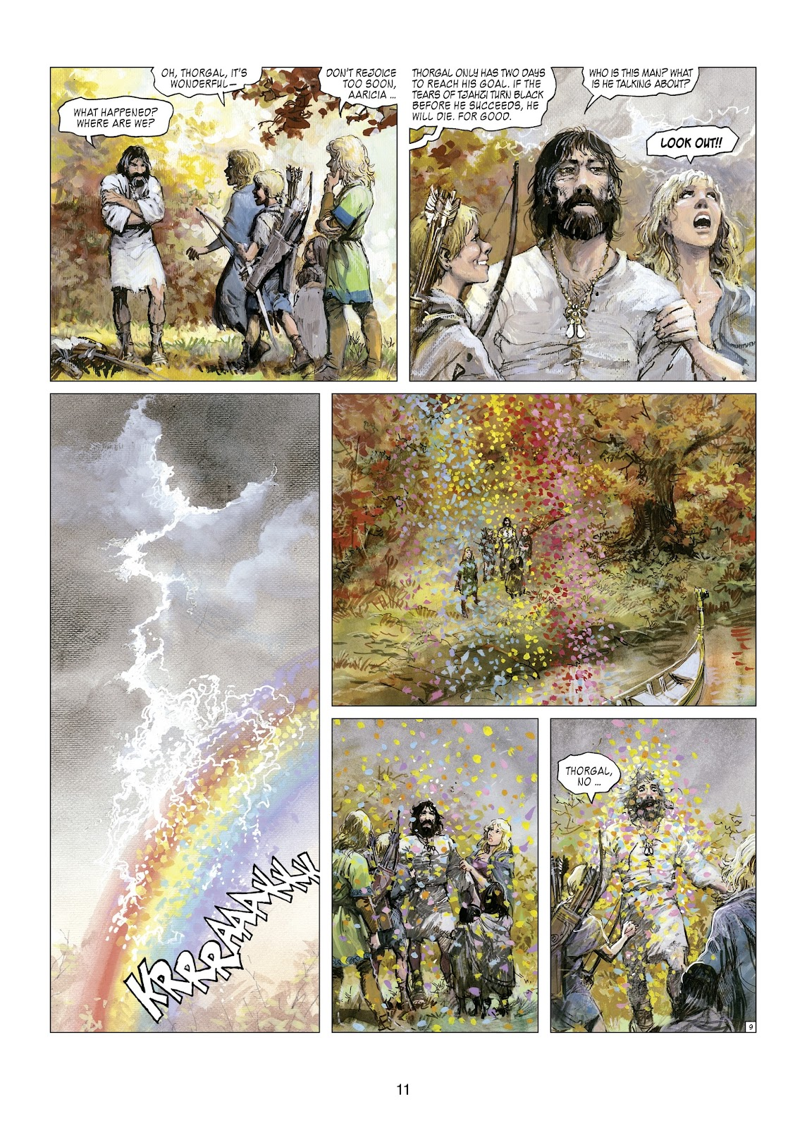 Read online Thorgal comic -  Issue #21 - 13