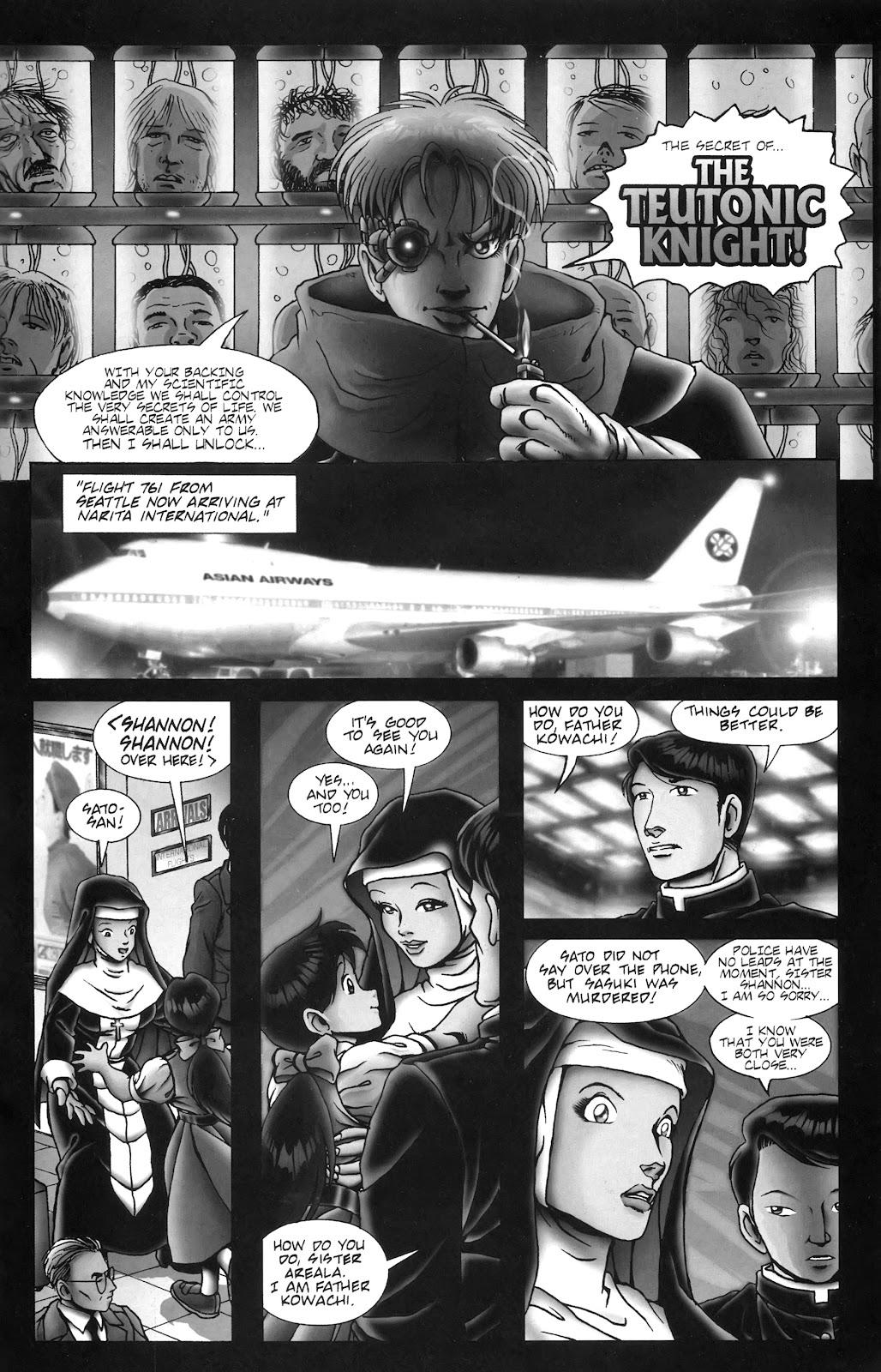 Warrior Nun Areala:  Dangerous Game Issue #3 #3 - English 27