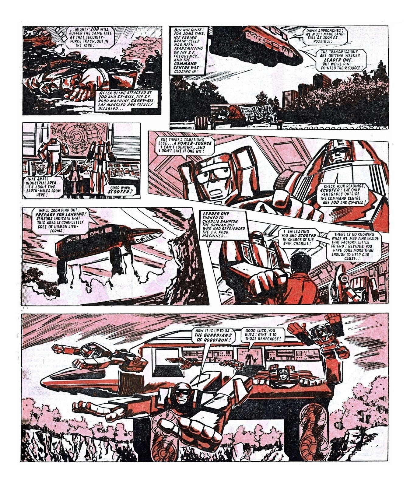 Read online Robo Machines comic -  Issue # TPB - 89