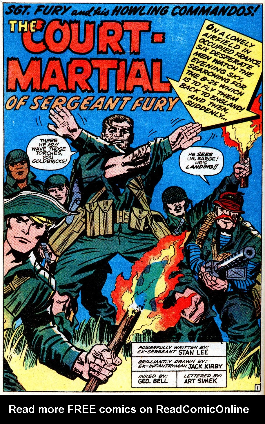 Read online Sgt. Fury comic -  Issue # _Special 5 - 38