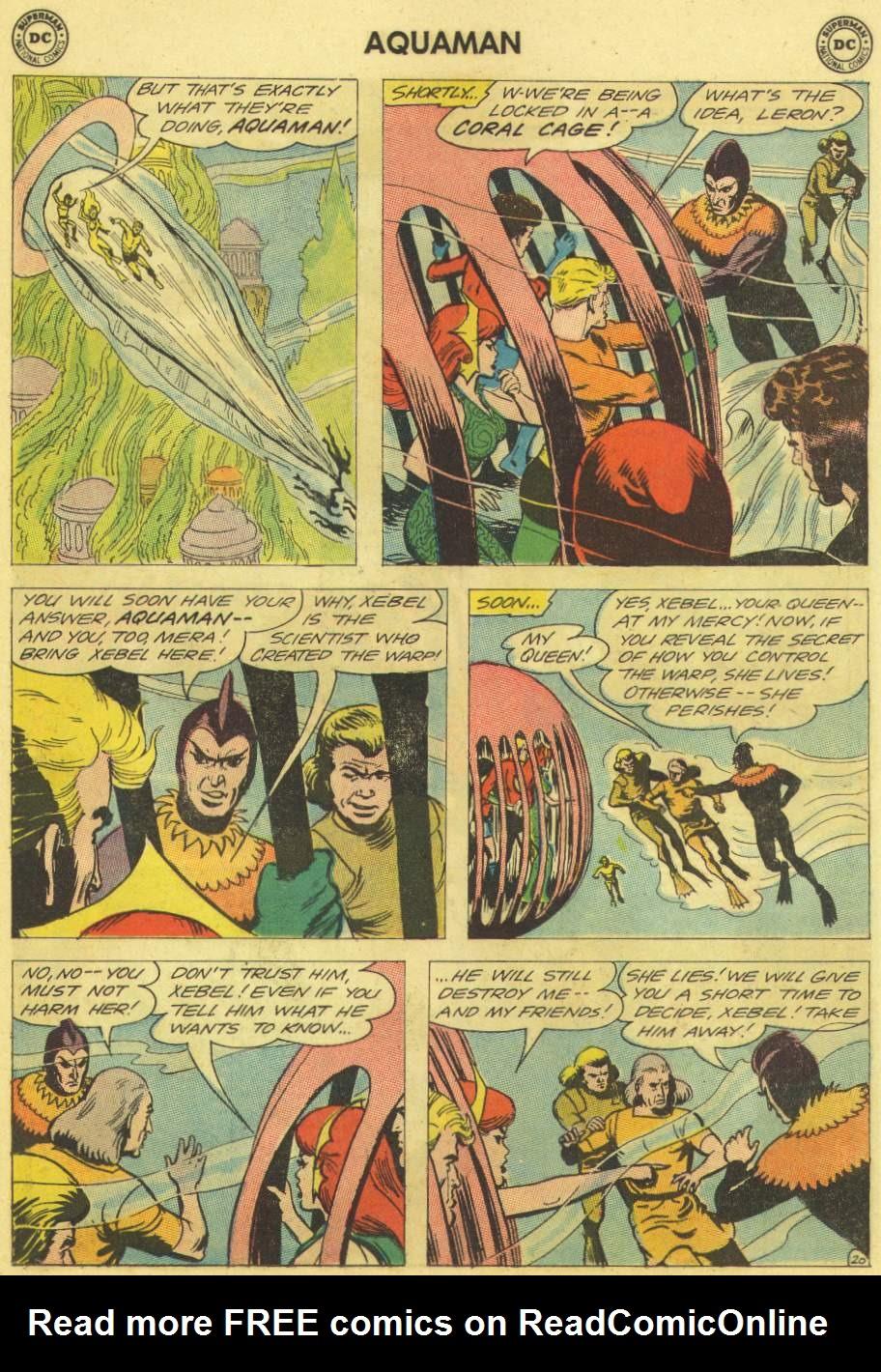 Read online Aquaman (1962) comic -  Issue #11 - 27